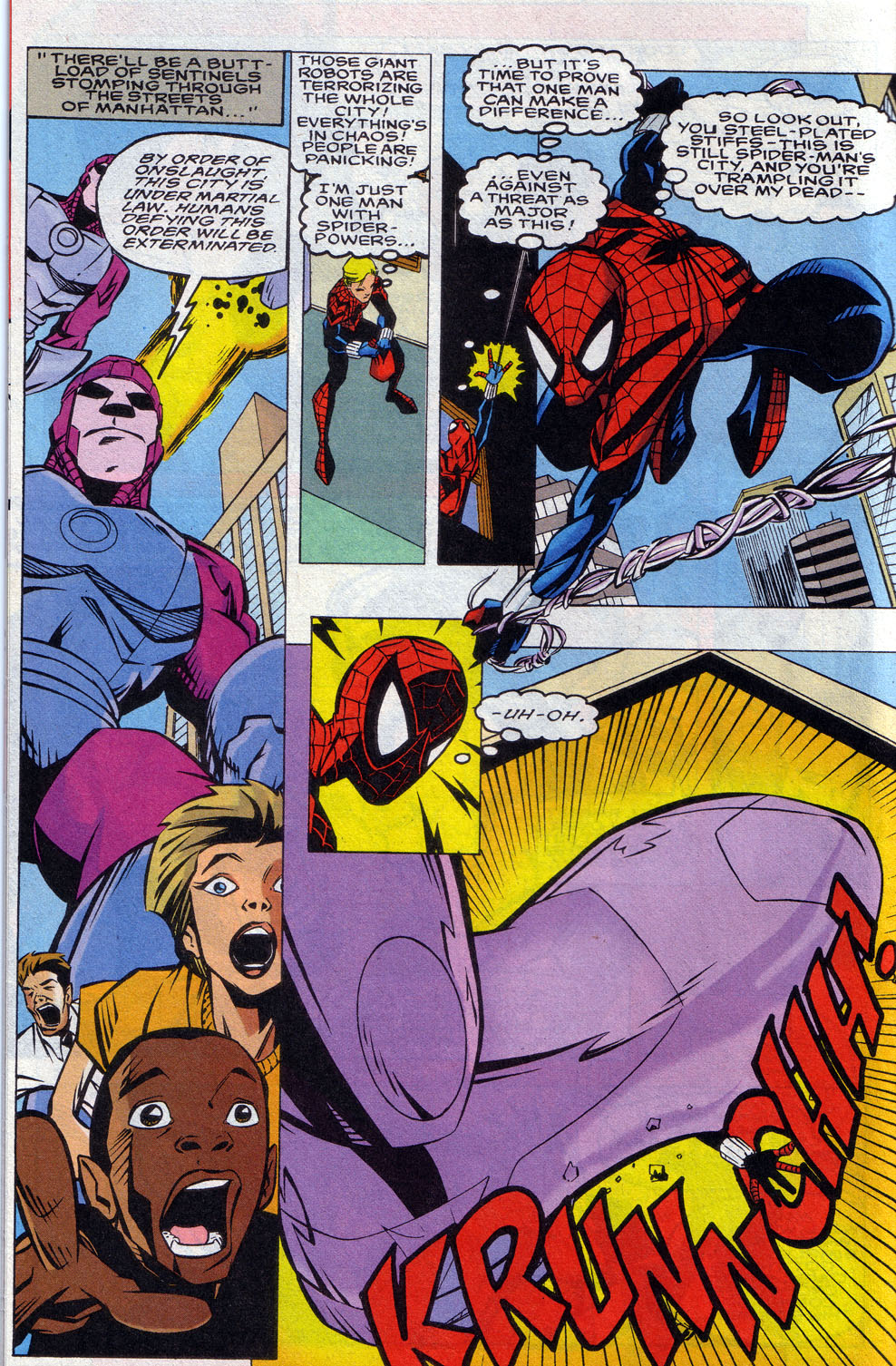 Read online 101 Ways to End the Clone Saga comic -  Issue #101 Ways to End the Clone Saga Full - 32