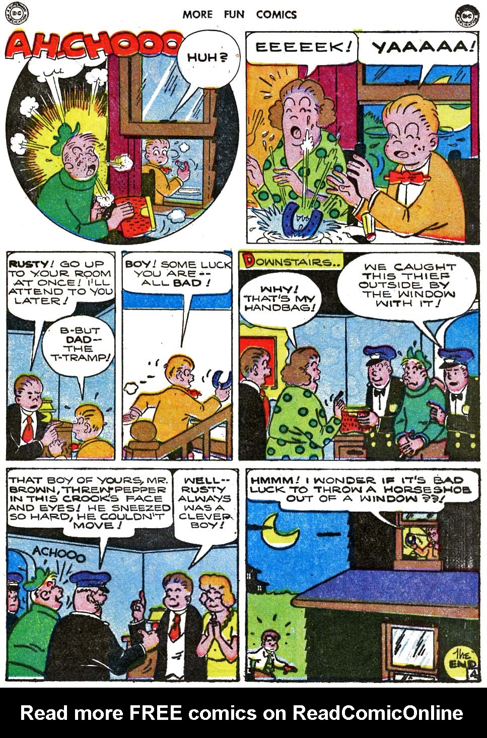 More Fun Comics issue 115 - Page 84