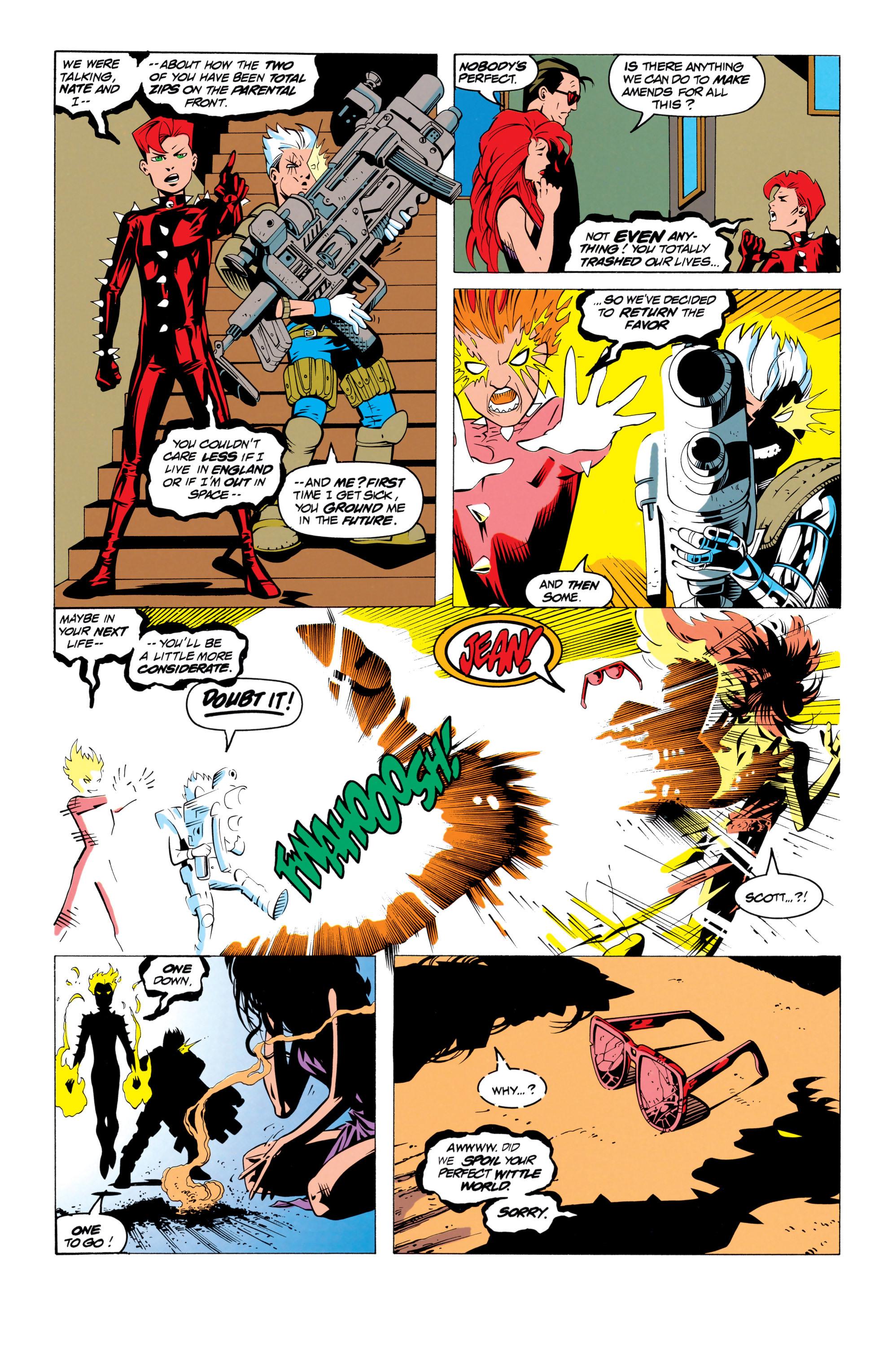 Read online Uncanny X-Men (1963) comic -  Issue # _Annual 17 - 22