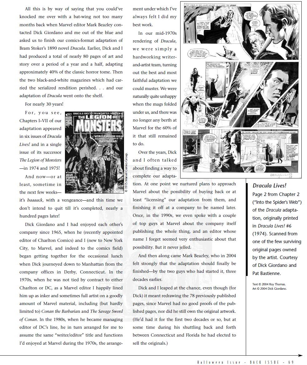 Back Issue issue 6 - Page 70