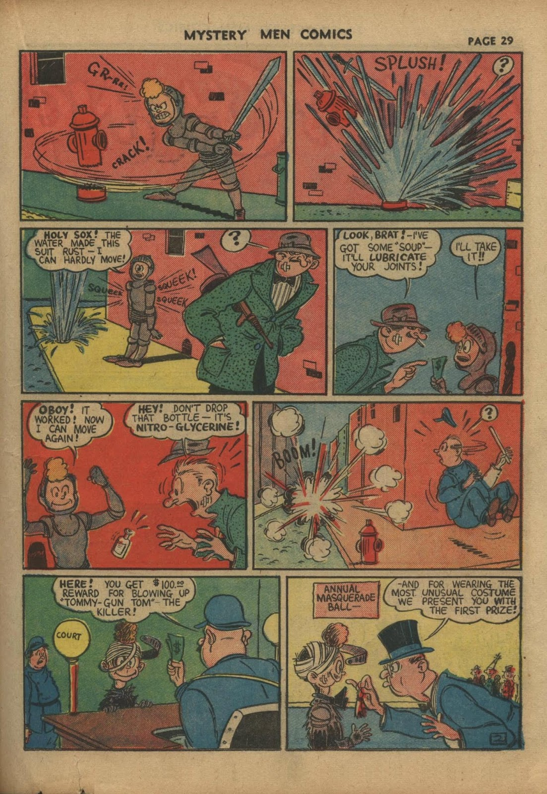 Mystery Men Comics issue 10 - Page 31