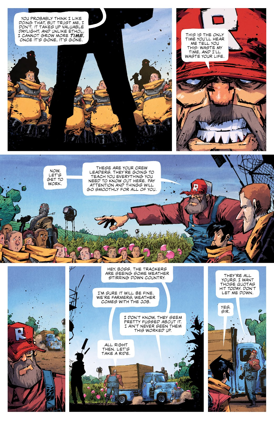 Read online Middlewest comic -  Issue #13 - 12