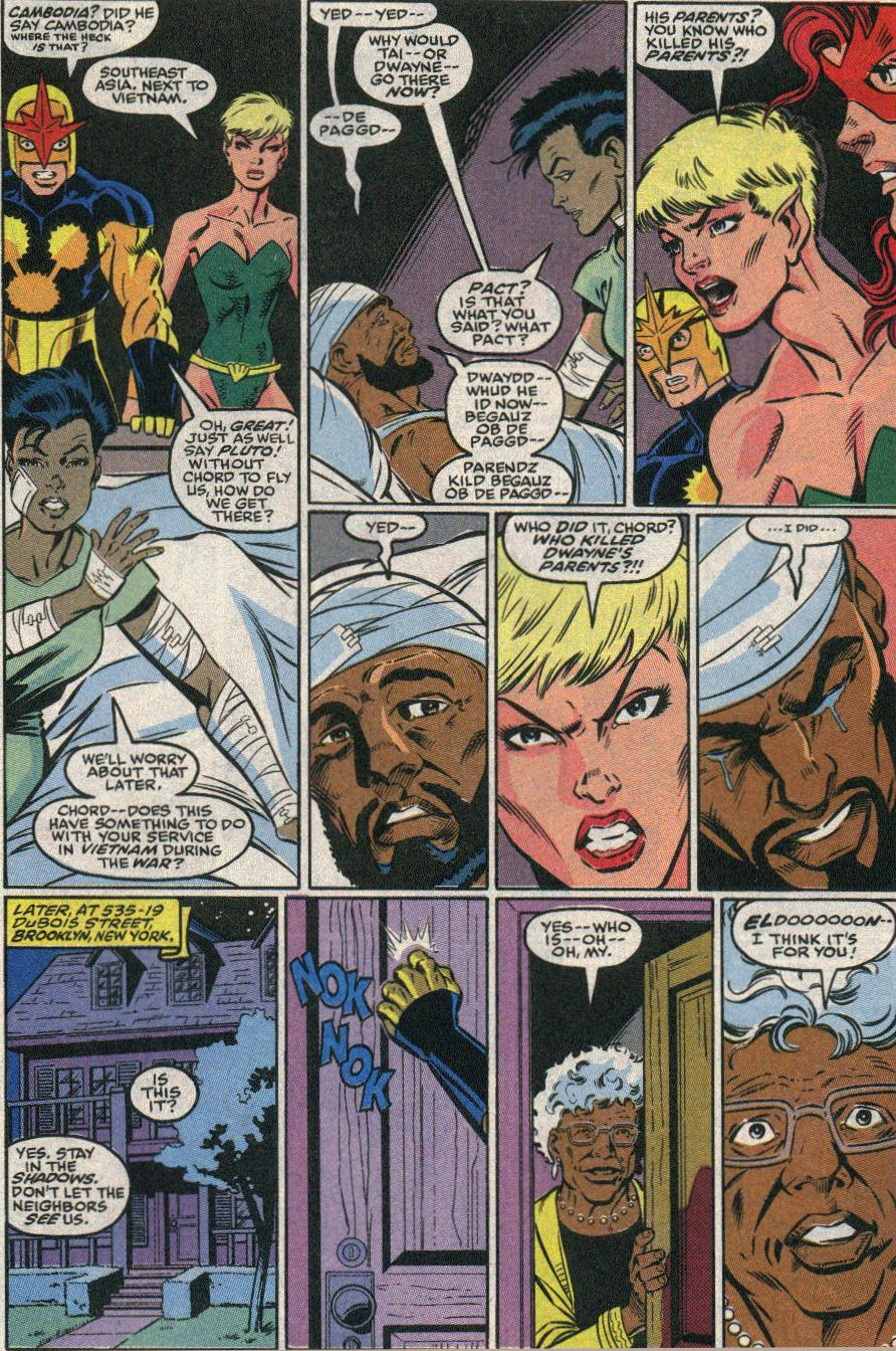 The New Warriors Issue #22 #26 - English 12