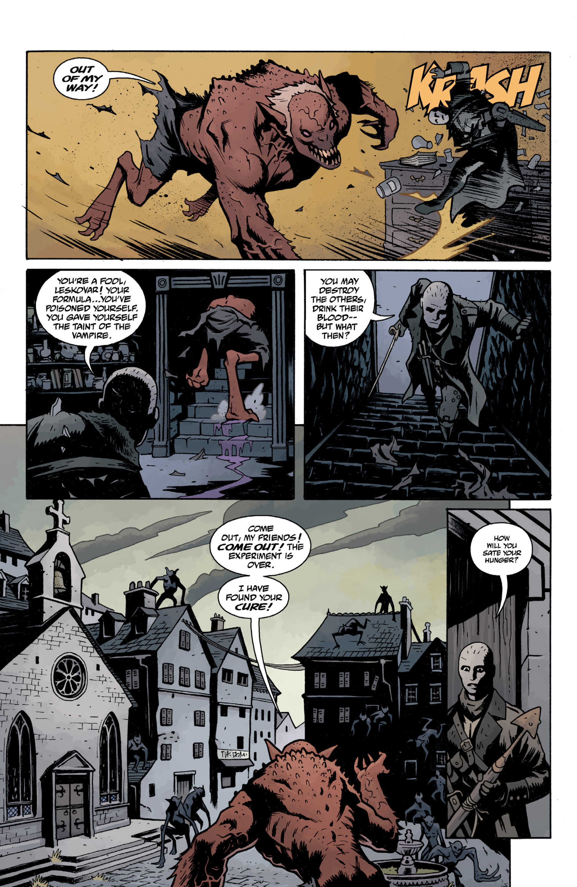 Read online Baltimore Volume 3: A Passing Stranger and Other Stories comic -  Issue # Full - 101