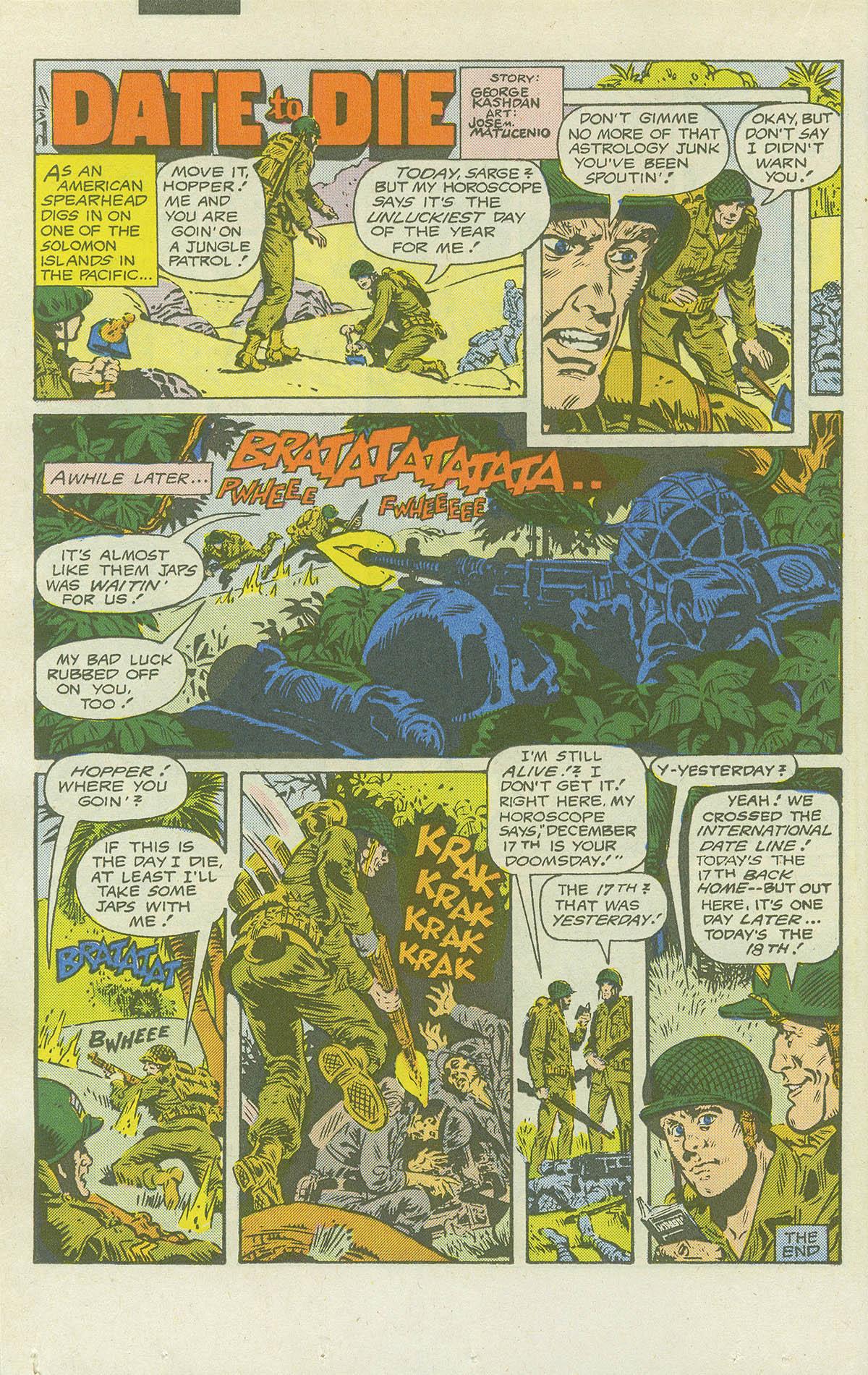 Read online Sgt. Rock comic -  Issue #415 - 21