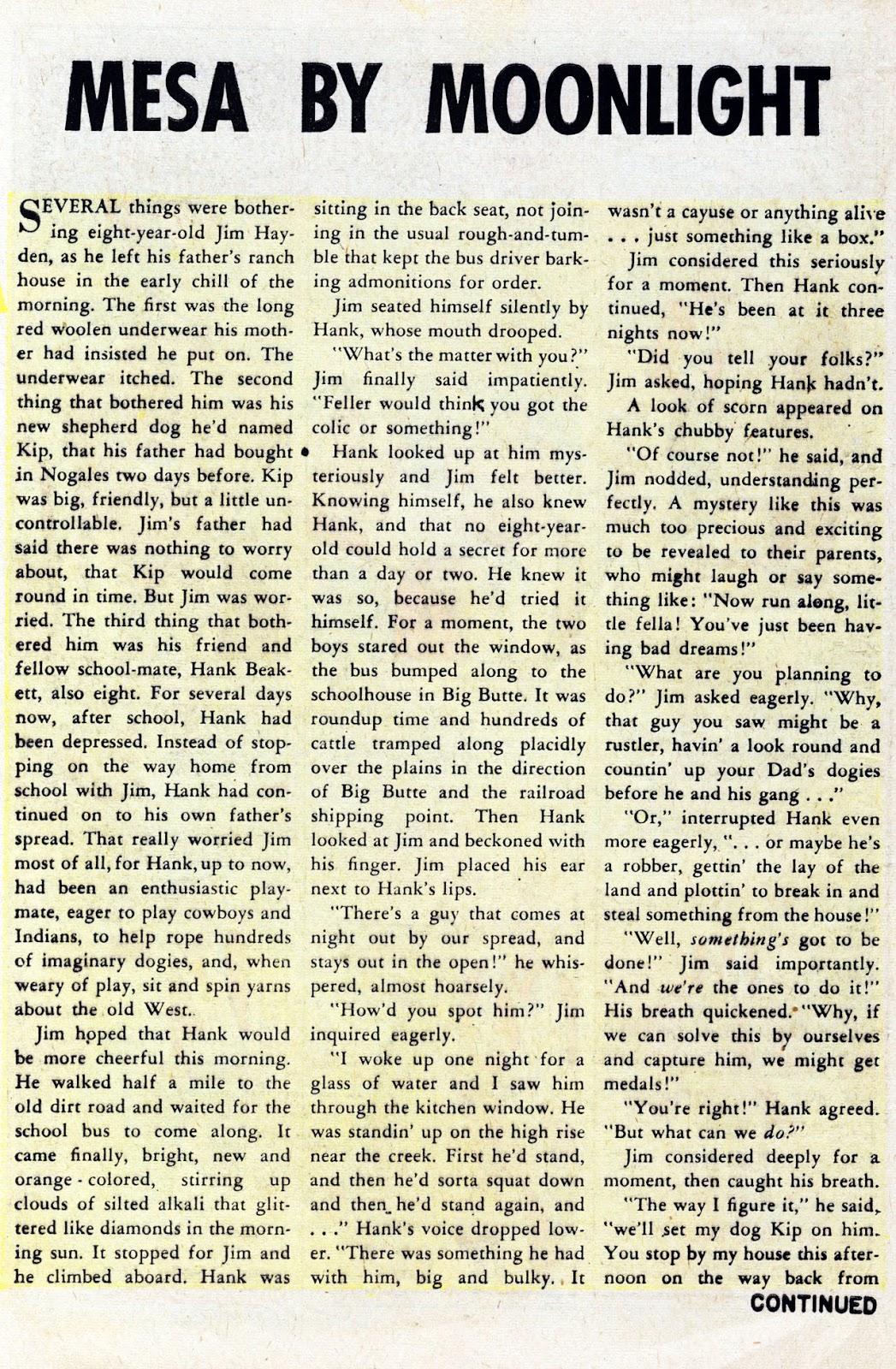 Gunsmoke Western issue 76 - Page 8