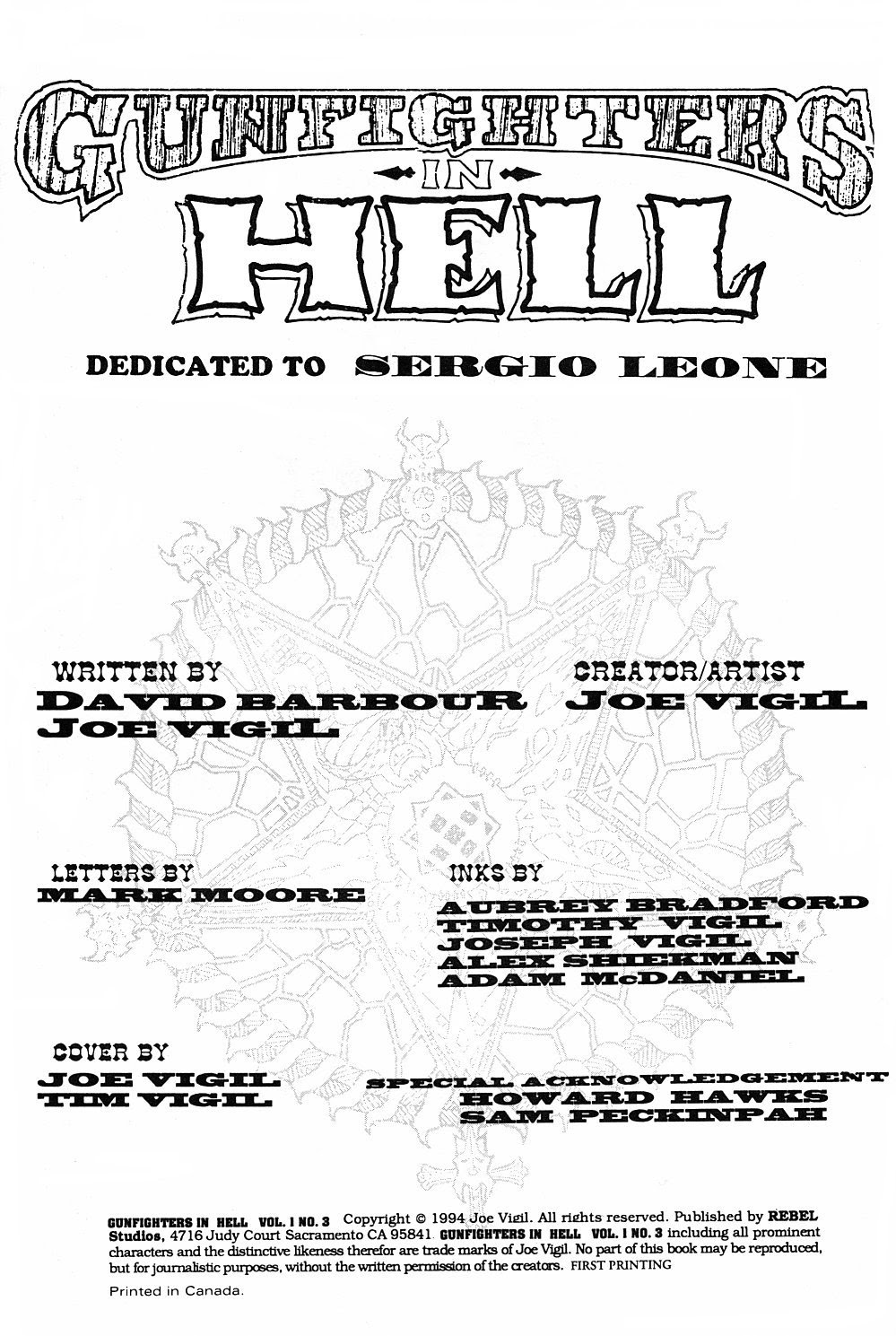 Read online Gunfighters in Hell comic -  Issue #3 - 4