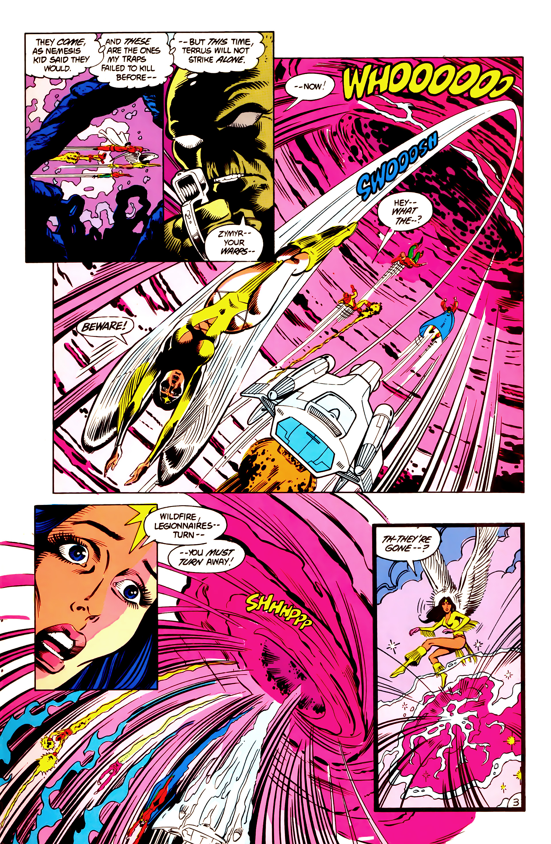 Legion of Super-Heroes (1984) 3 Page 4