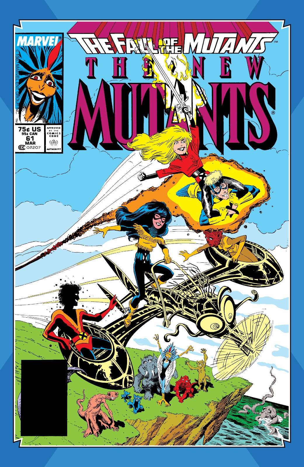 Read online X-Men Milestones: Fall of the Mutants comic -  Issue # TPB (Part 2) - 57