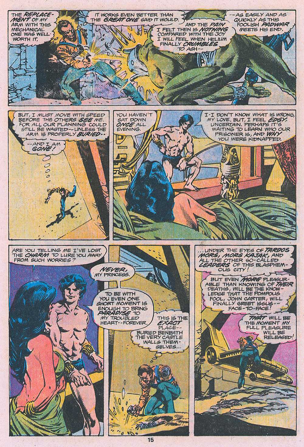John Carter Warlord of Mars issue 2 - Page 17