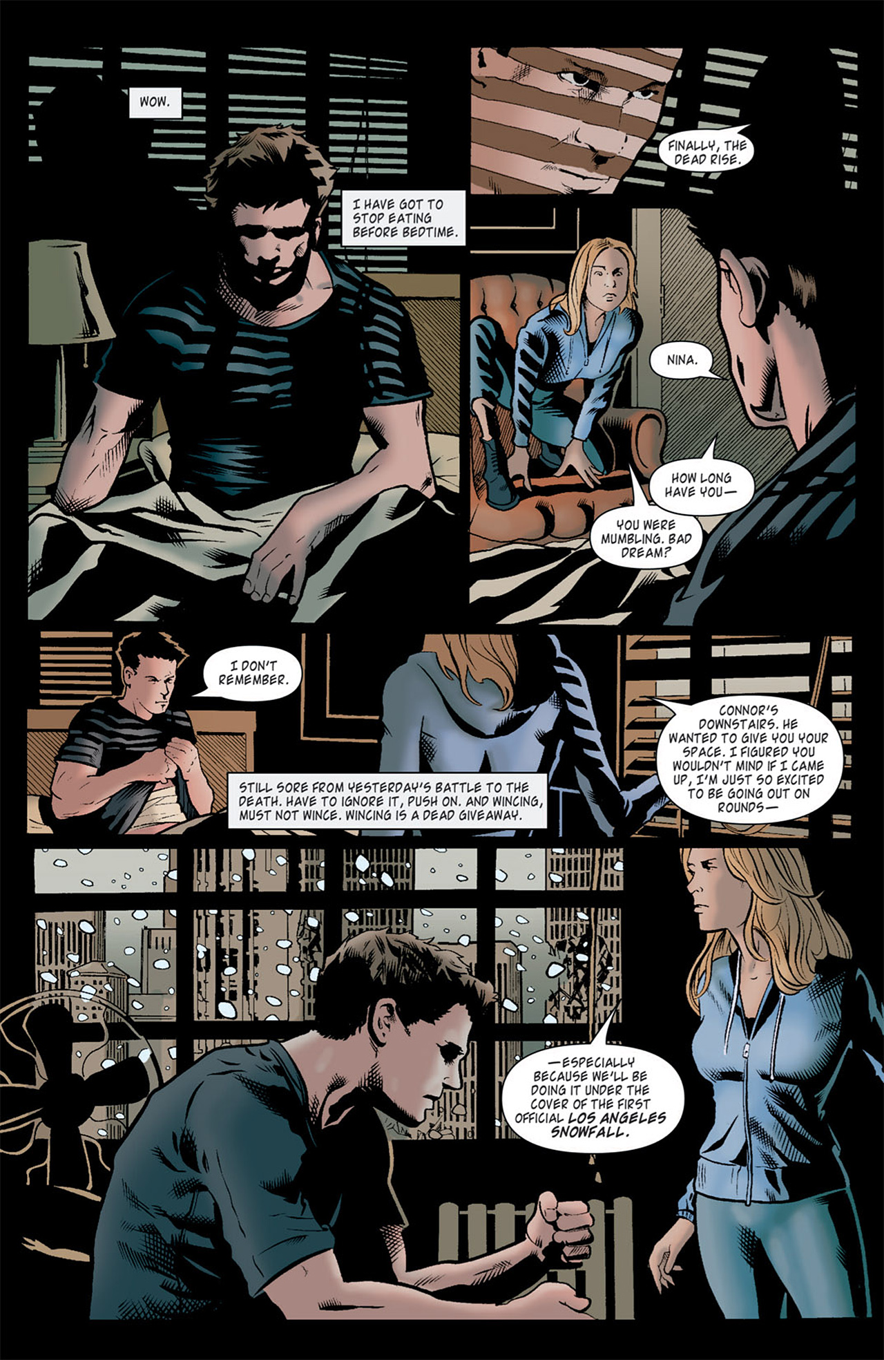 Read online Angel: After The Fall comic -  Issue #10 - 6