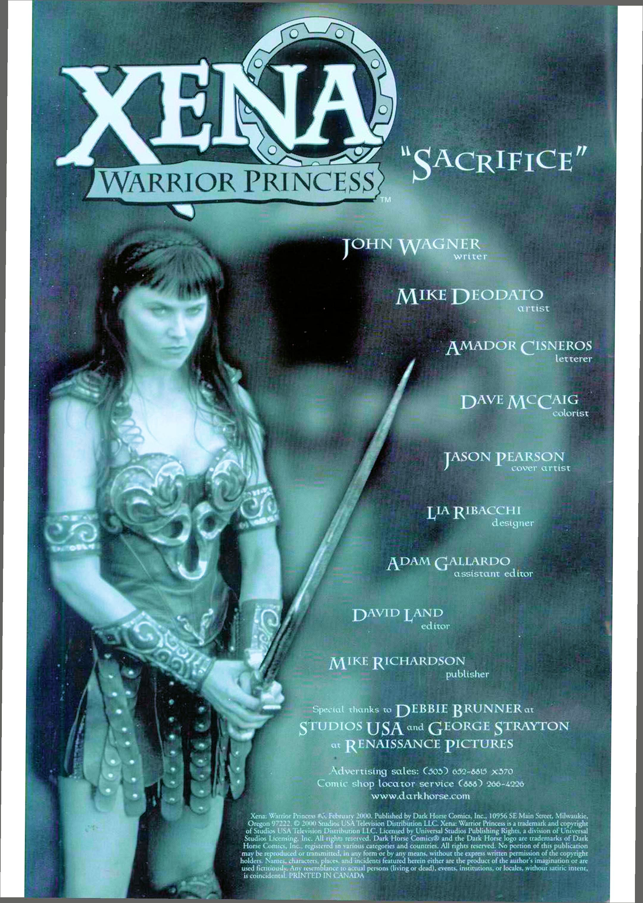 Read online Xena: Warrior Princess (1999) comic -  Issue #6 - 3