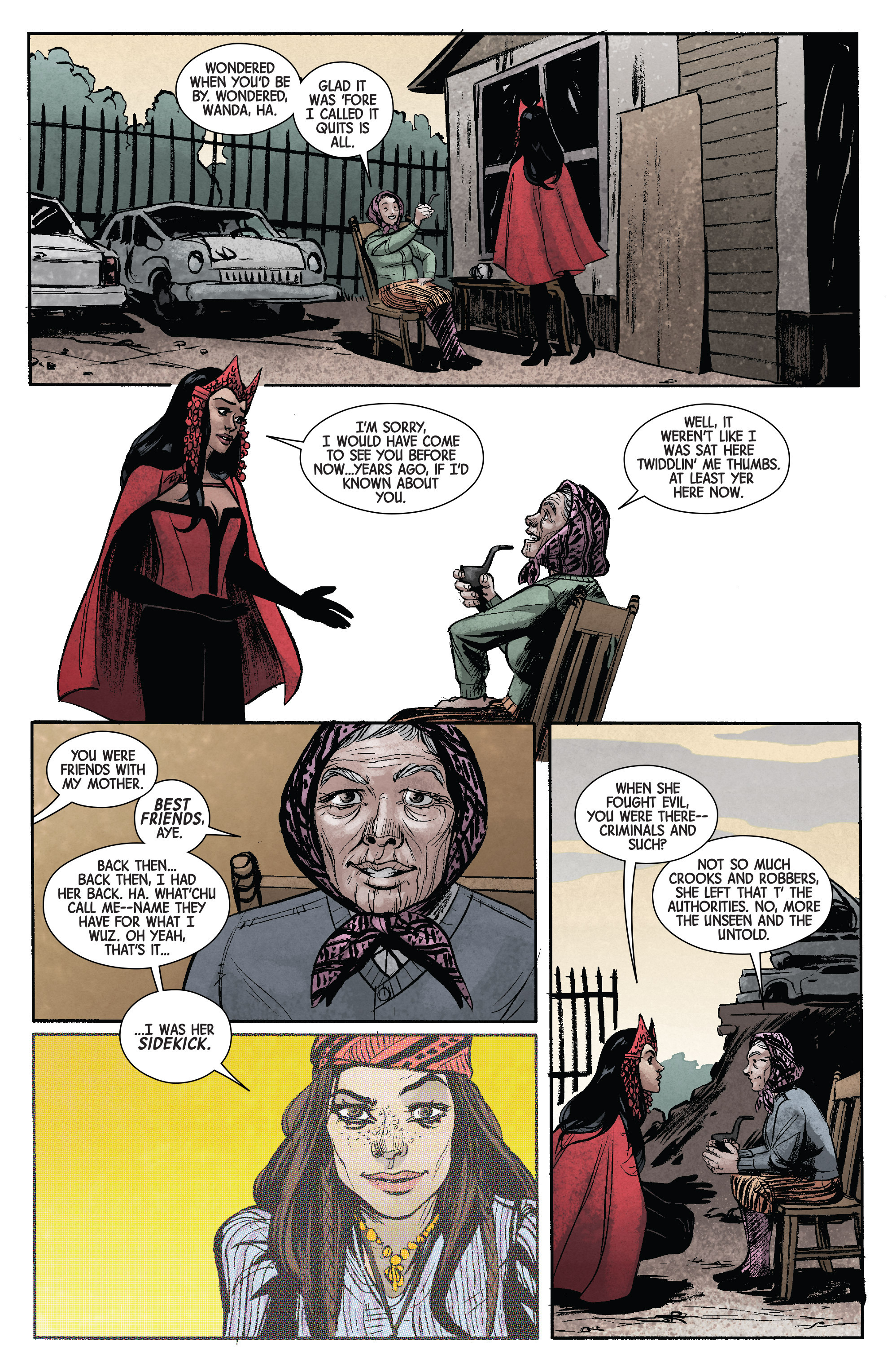 Read online Scarlet Witch (2016) comic -  Issue #11 - 14