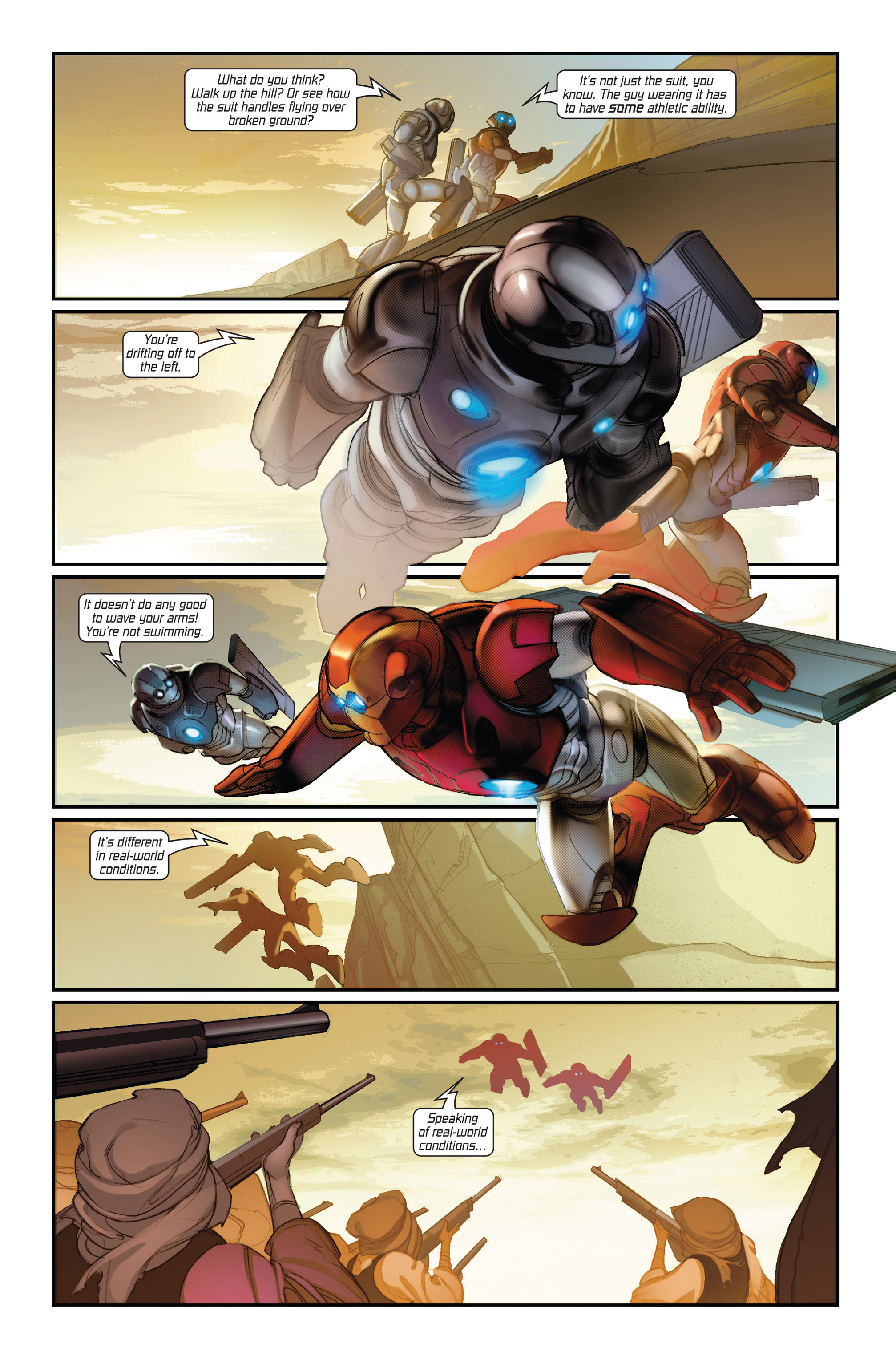 Read online Ultimate Iron Man II comic -  Issue #1 - 22