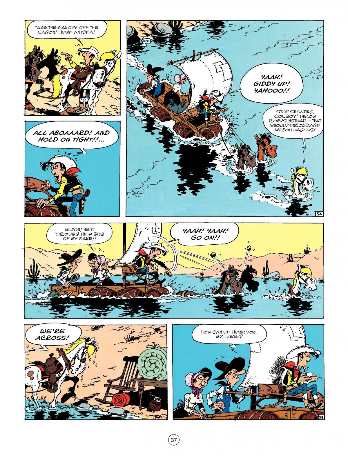 Read online A Lucky Luke Adventure comic -  Issue #50 - 37