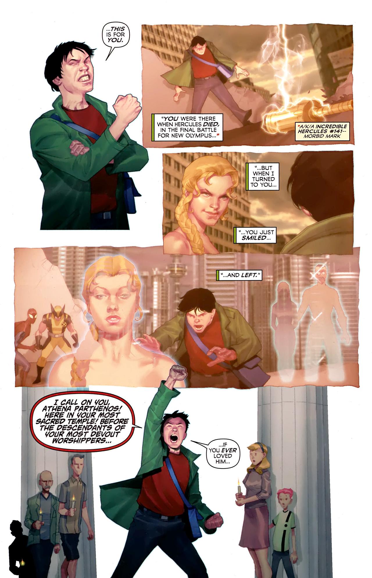 Read online Hercules: Fall of an Avenger comic -  Issue #1 - 4