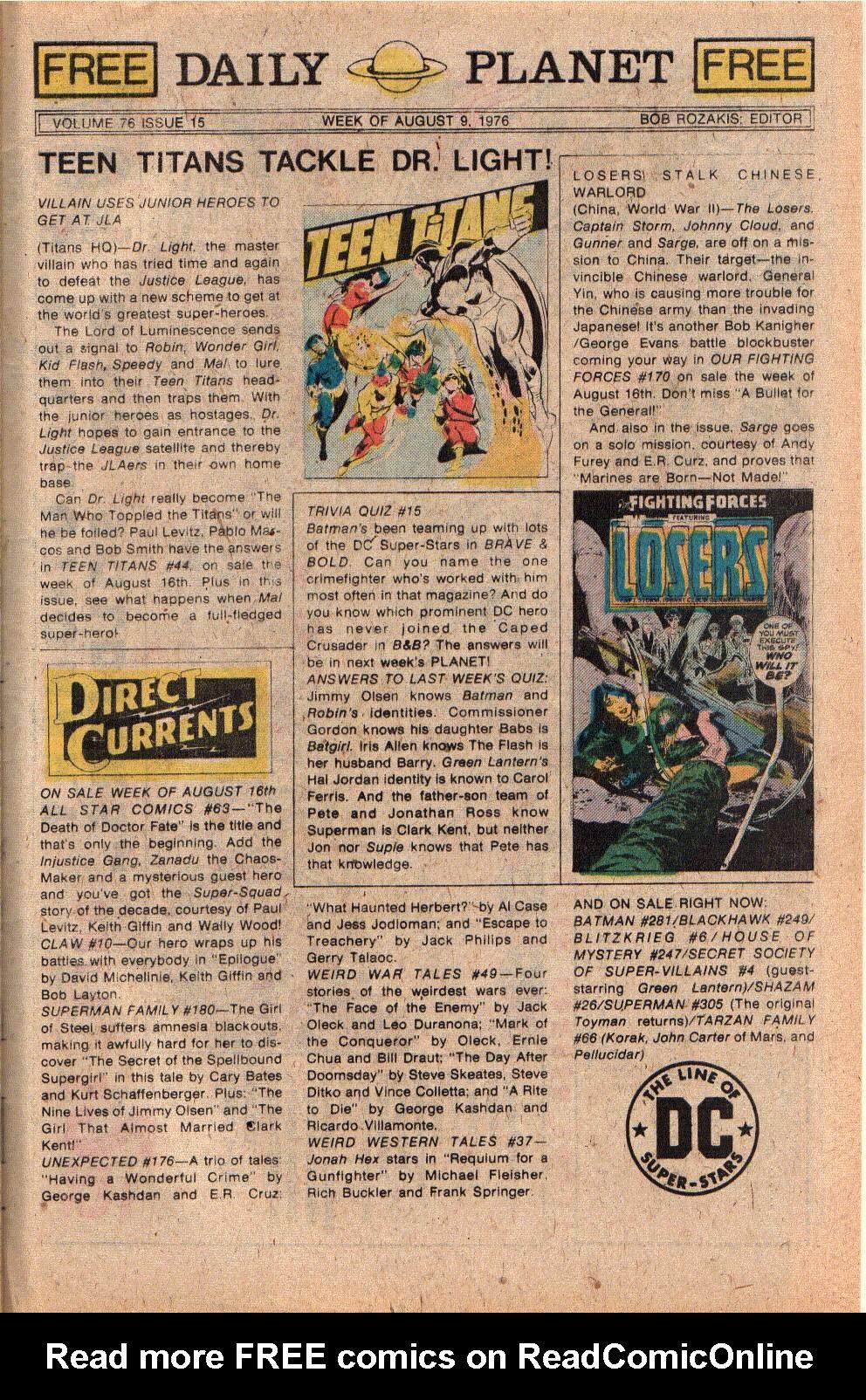 Read online Shazam! (1973) comic -  Issue #26 - 33