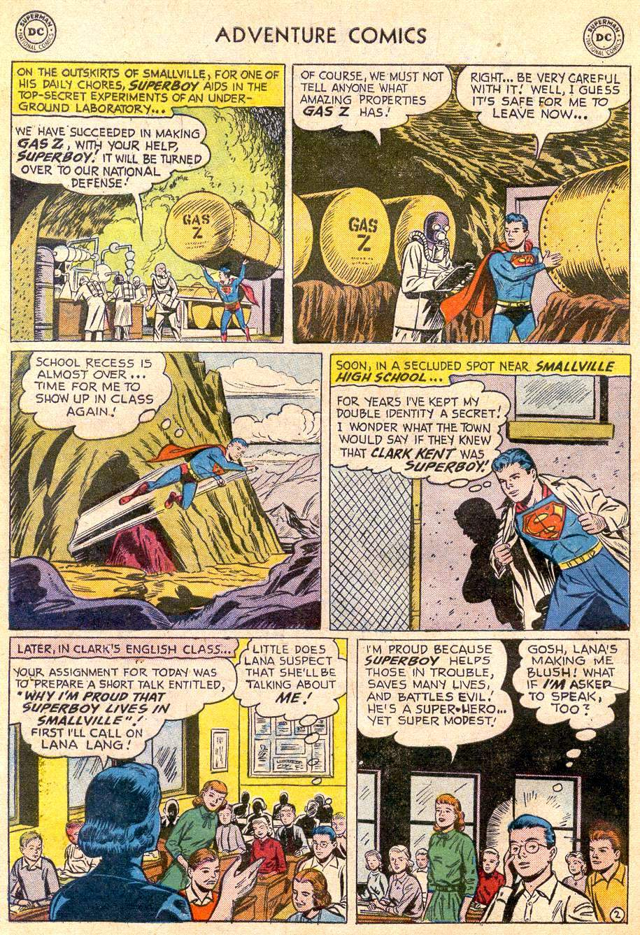 Read online Adventure Comics (1938) comic -  Issue #235 - 4