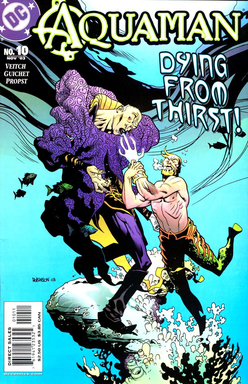 Read online Aquaman (2003) comic -  Issue #10 - 1