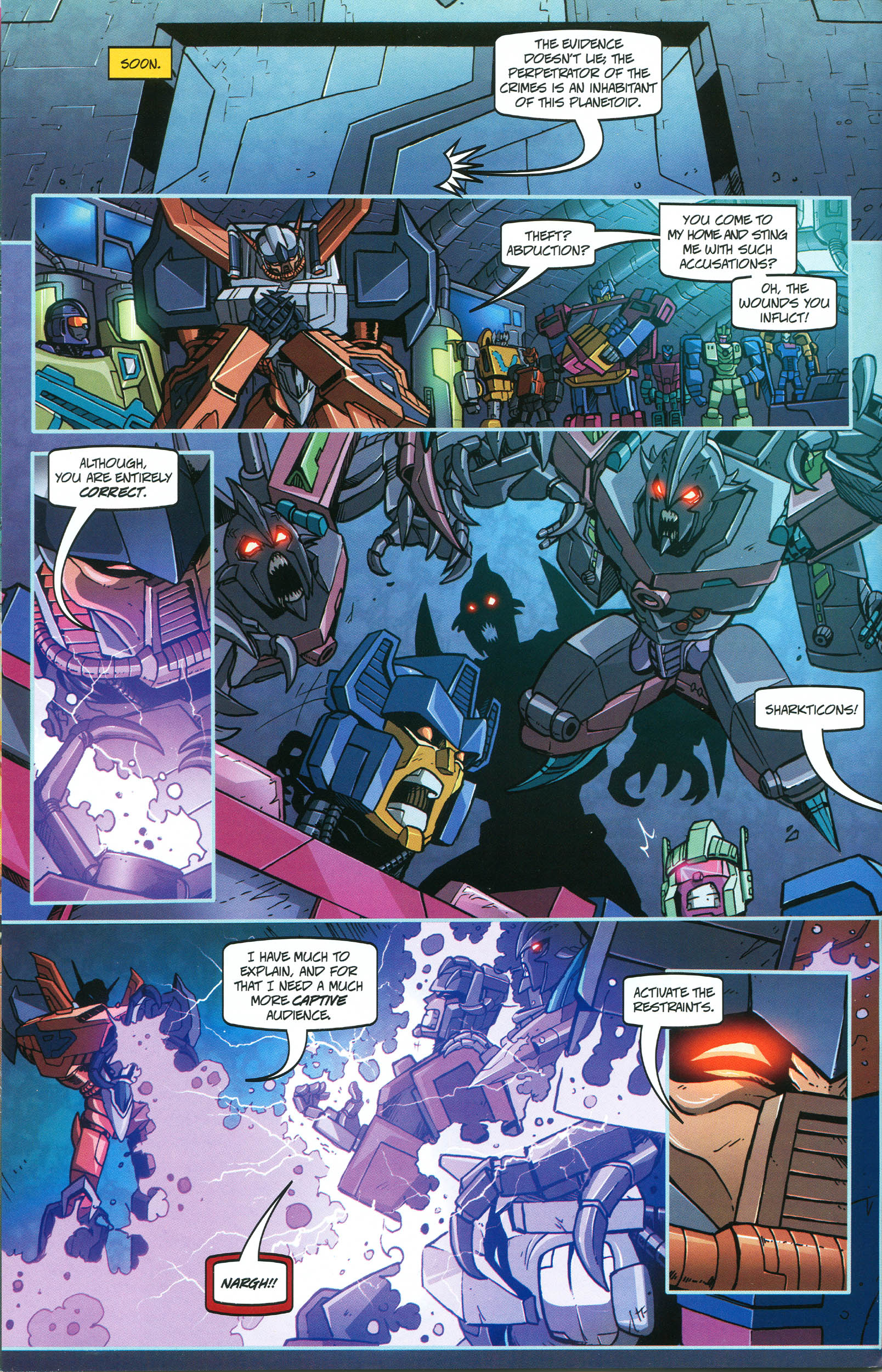 Read online Transformers: Collectors' Club comic -  Issue #46 - 10
