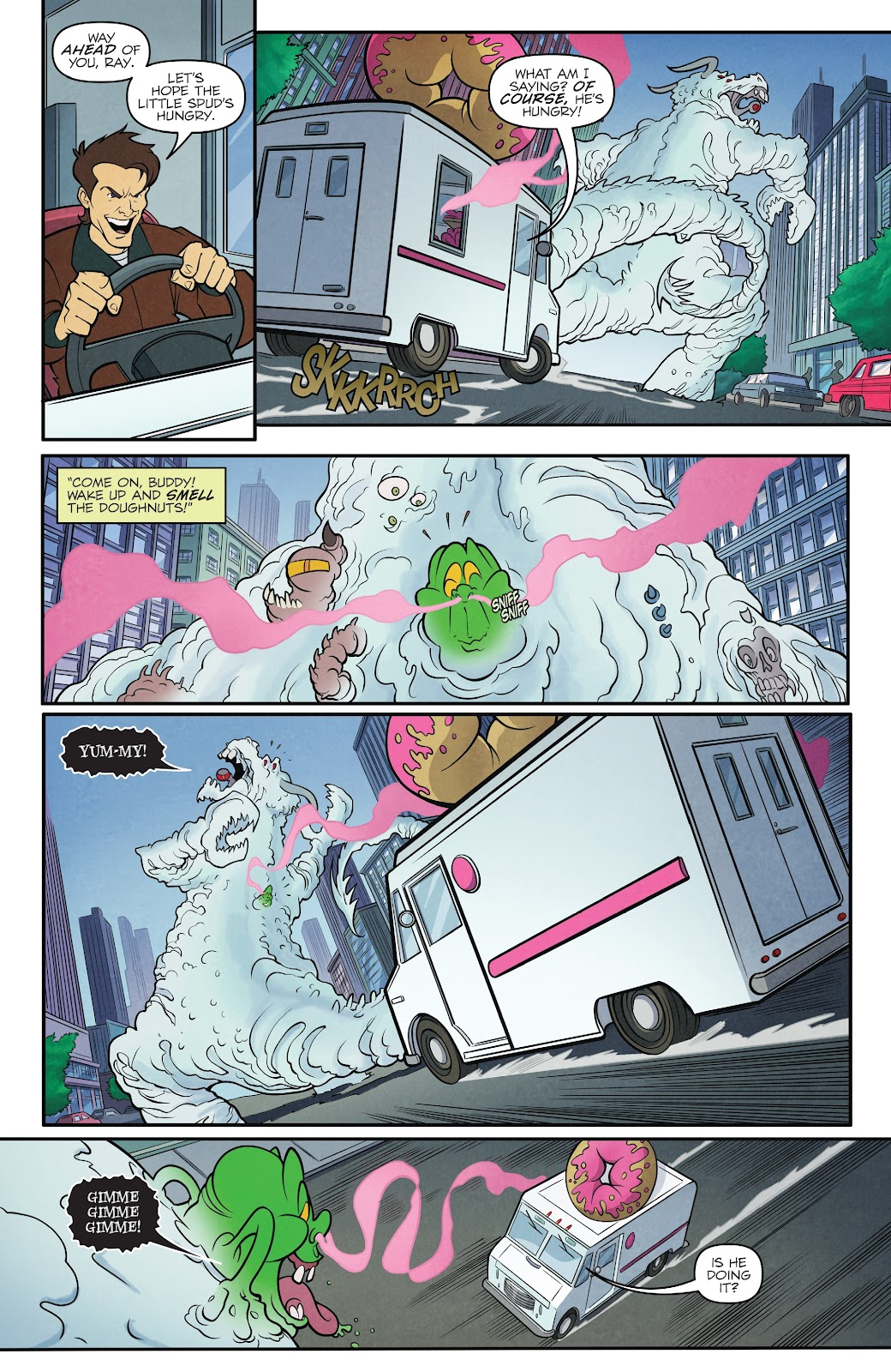 Read online Ghostbusters 35th Anniversary: The Real Ghostbusters comic -  Issue # Full - 22