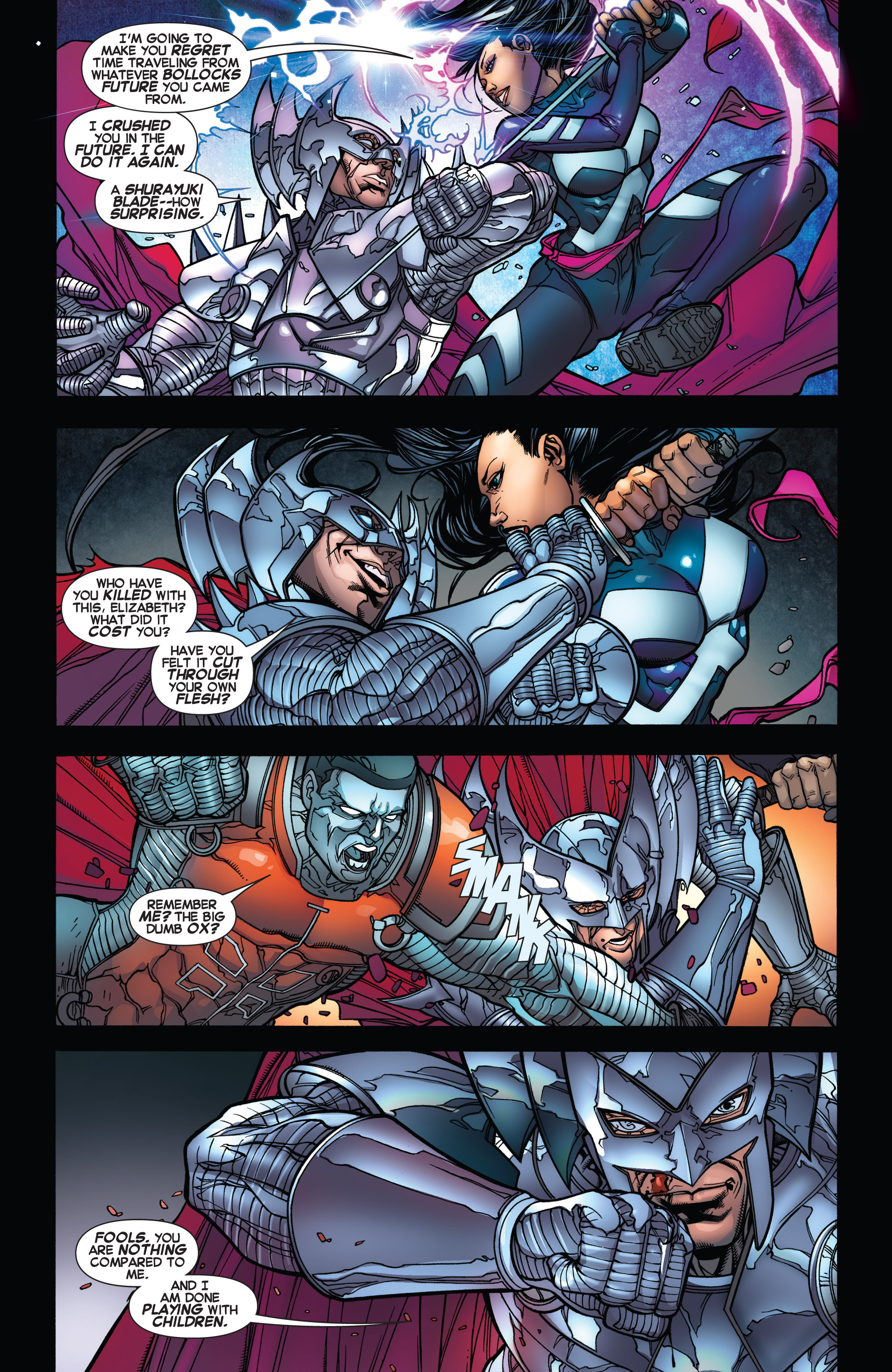 Read online Uncanny X-Force (2013) comic -  Issue #17 - 10