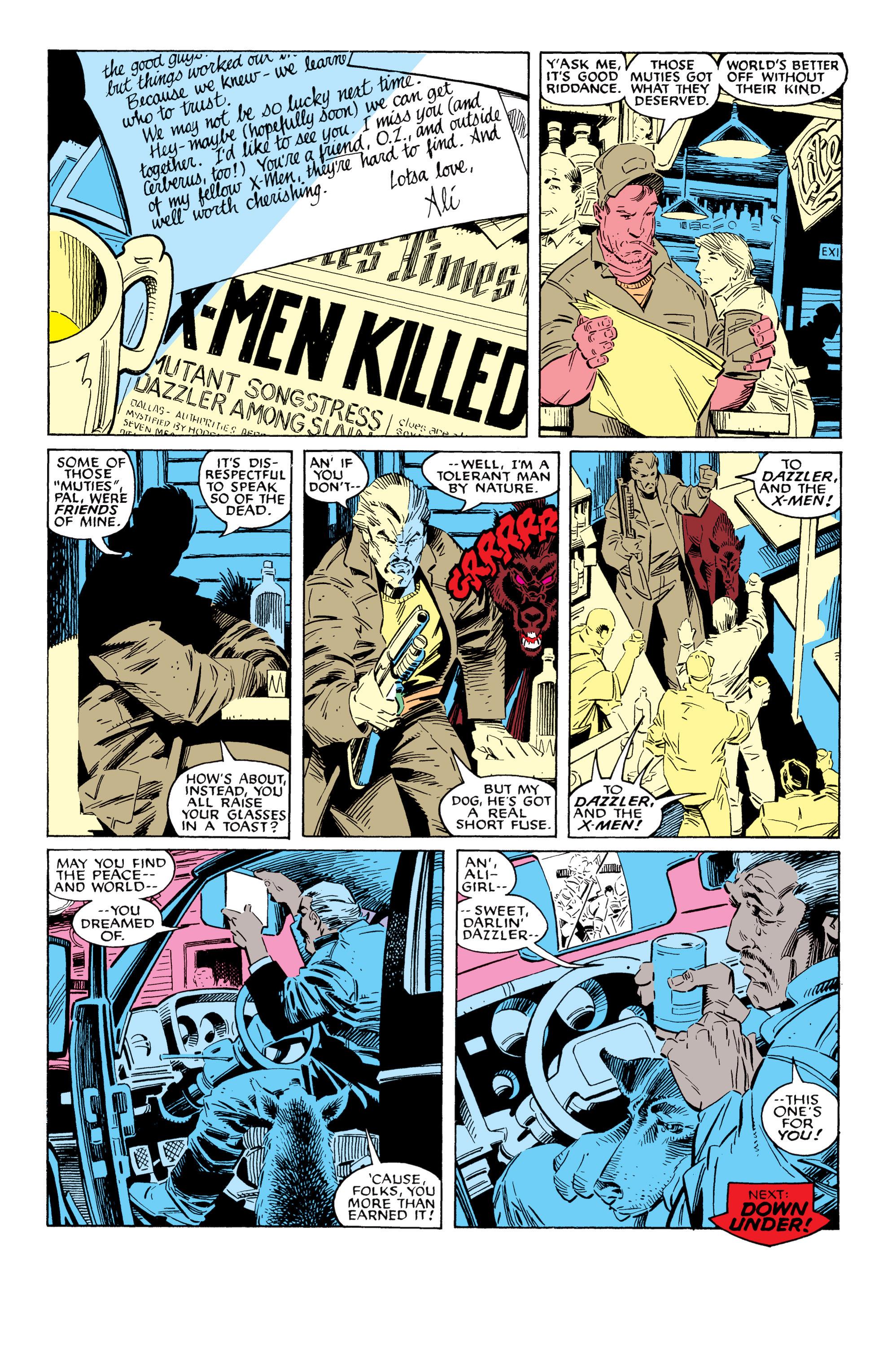 Read online Uncanny X-Men (1963) comic -  Issue #228 - 25