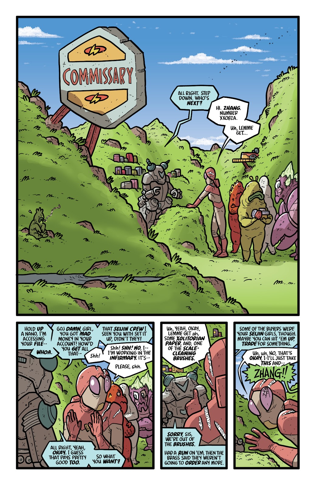 Read online Kaijumax: Season Four comic -  Issue #4 - 9