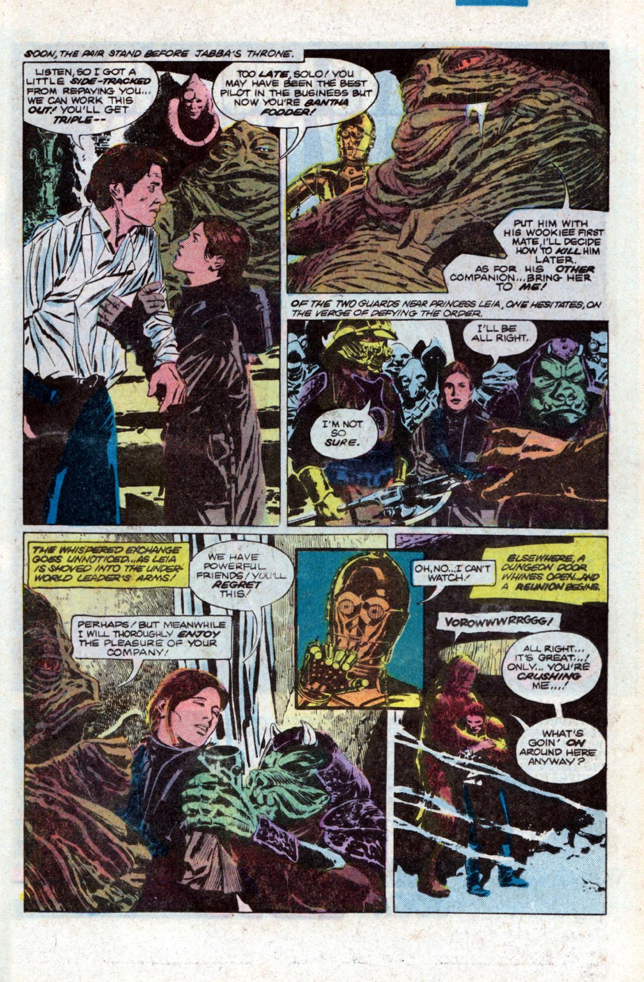 Read online Star Wars: Return of the Jedi comic -  Issue #1 - 17