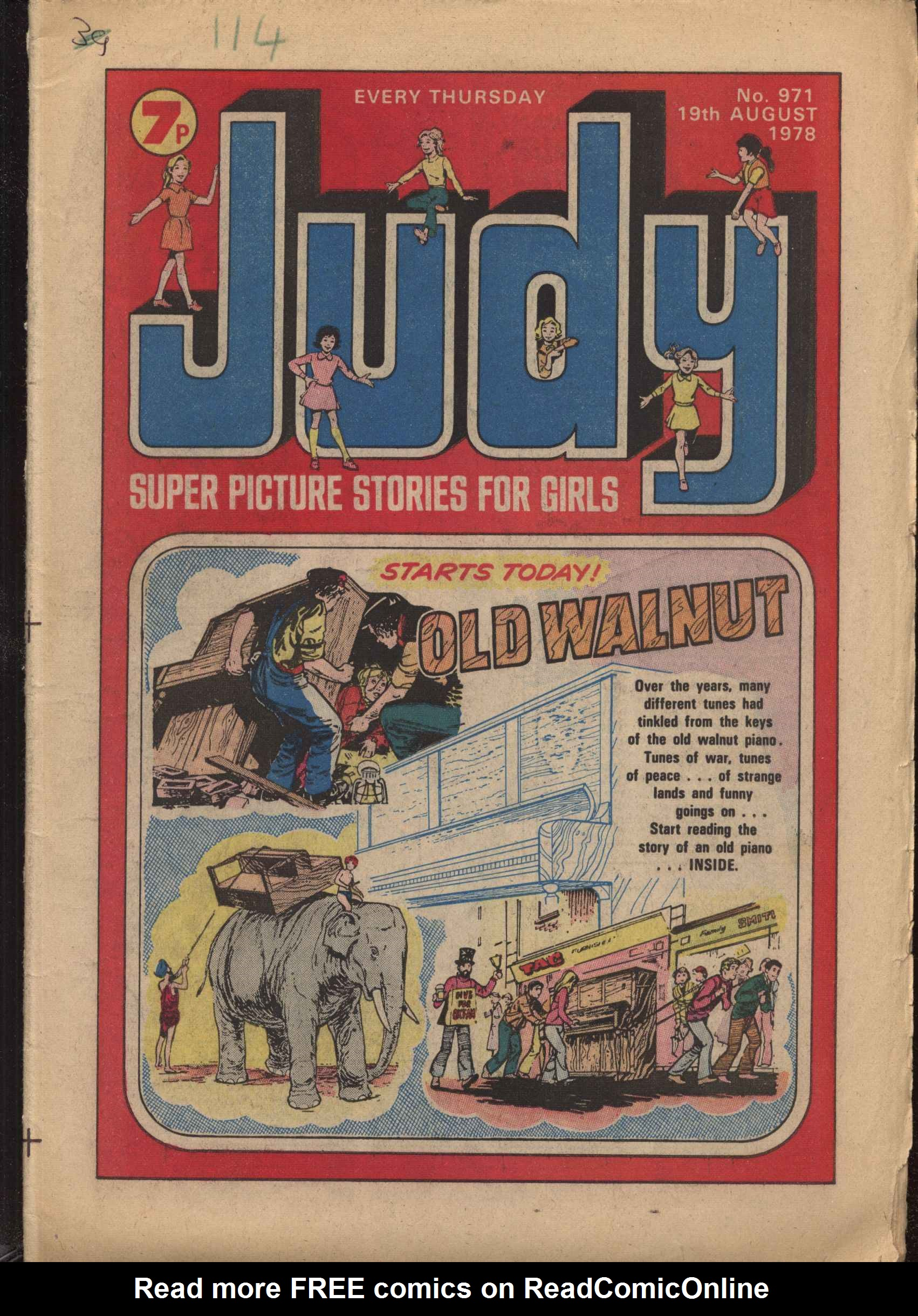 Read online Judy comic -  Issue #971 - 1