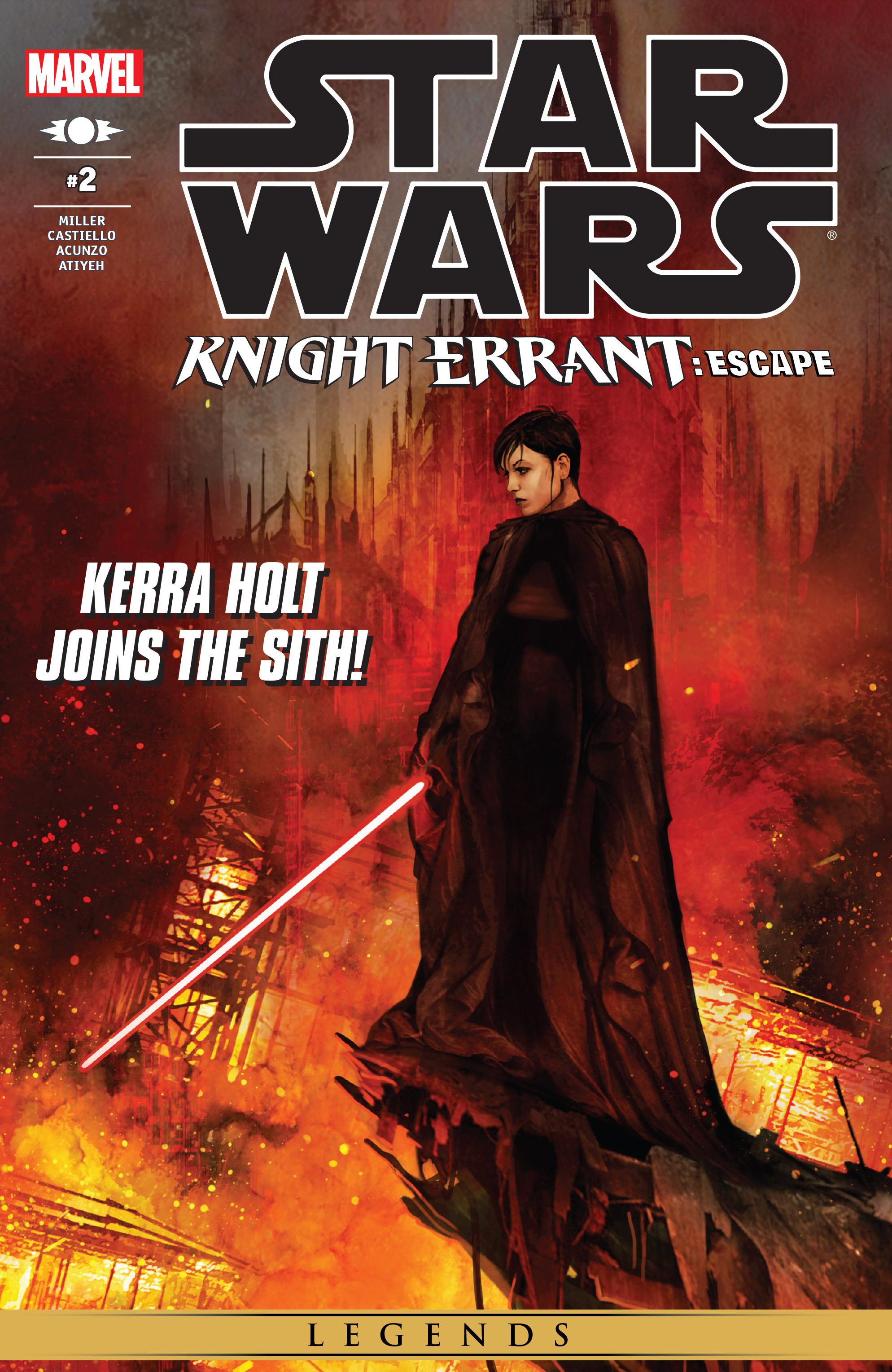 Read online Star Wars: Knight Errant - Escape comic -  Issue #2 - 1