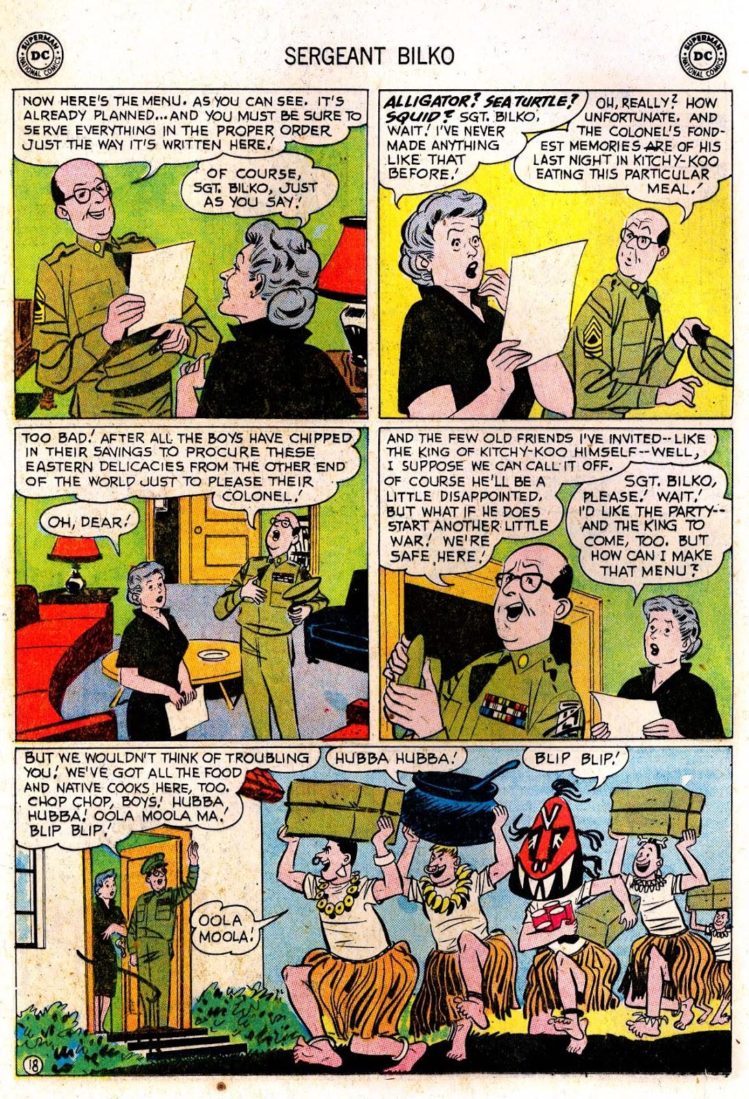Sergeant Bilko issue 7 - Page 20