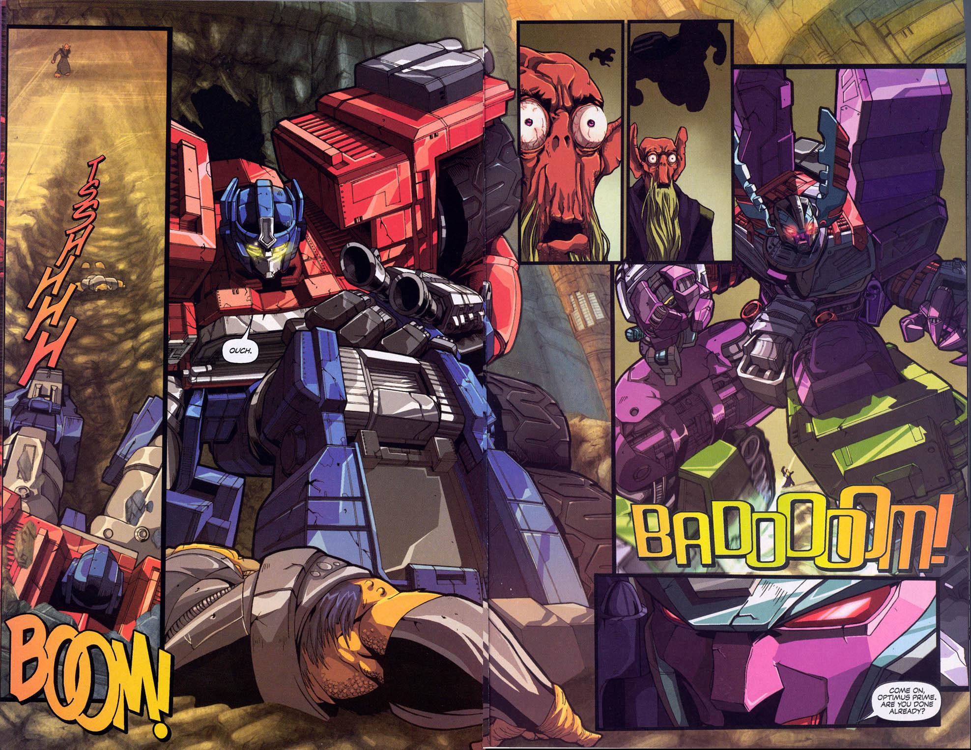 Read online Transformers Armada comic -  Issue #0 - 6