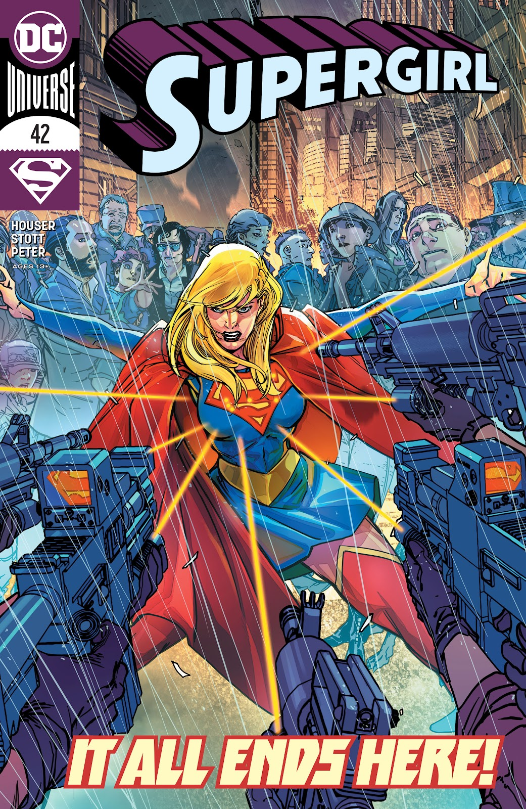 Read online Supergirl (2016) comic -  Issue #42 - 1