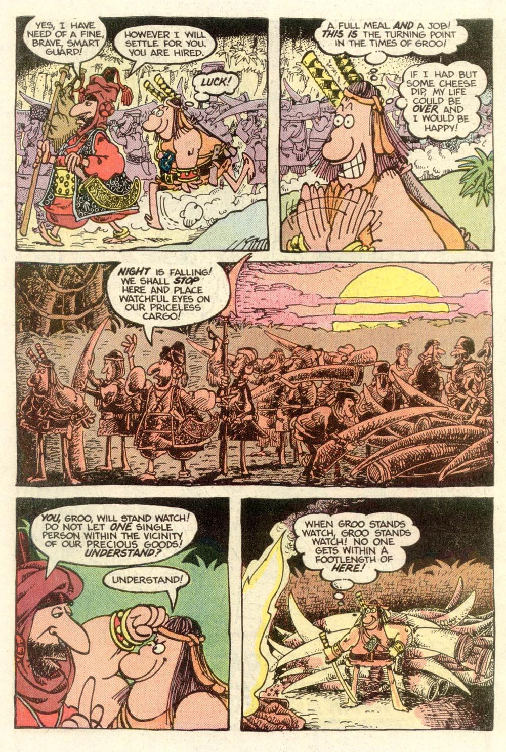 Read online Sergio Aragonés Groo the Wanderer comic -  Issue #7 - 4