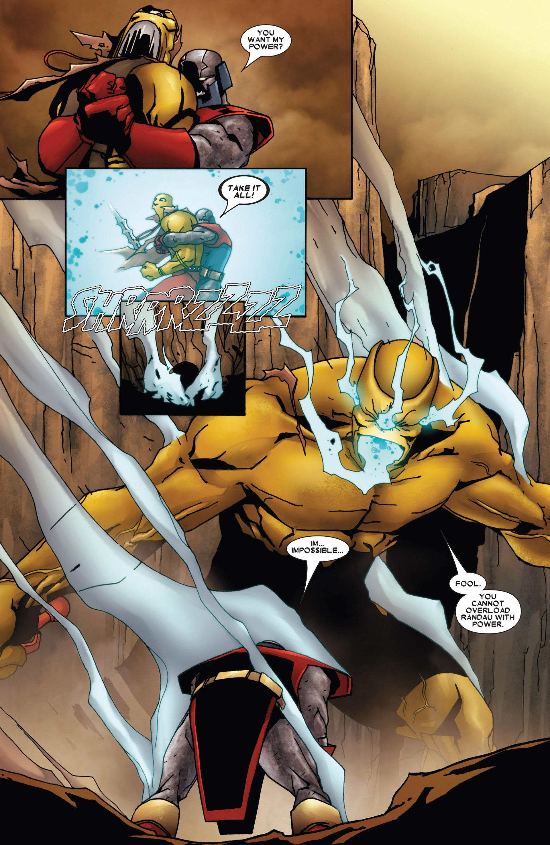 Read online Annihilation: Heralds Of Galactus comic -  Issue #1 - 18