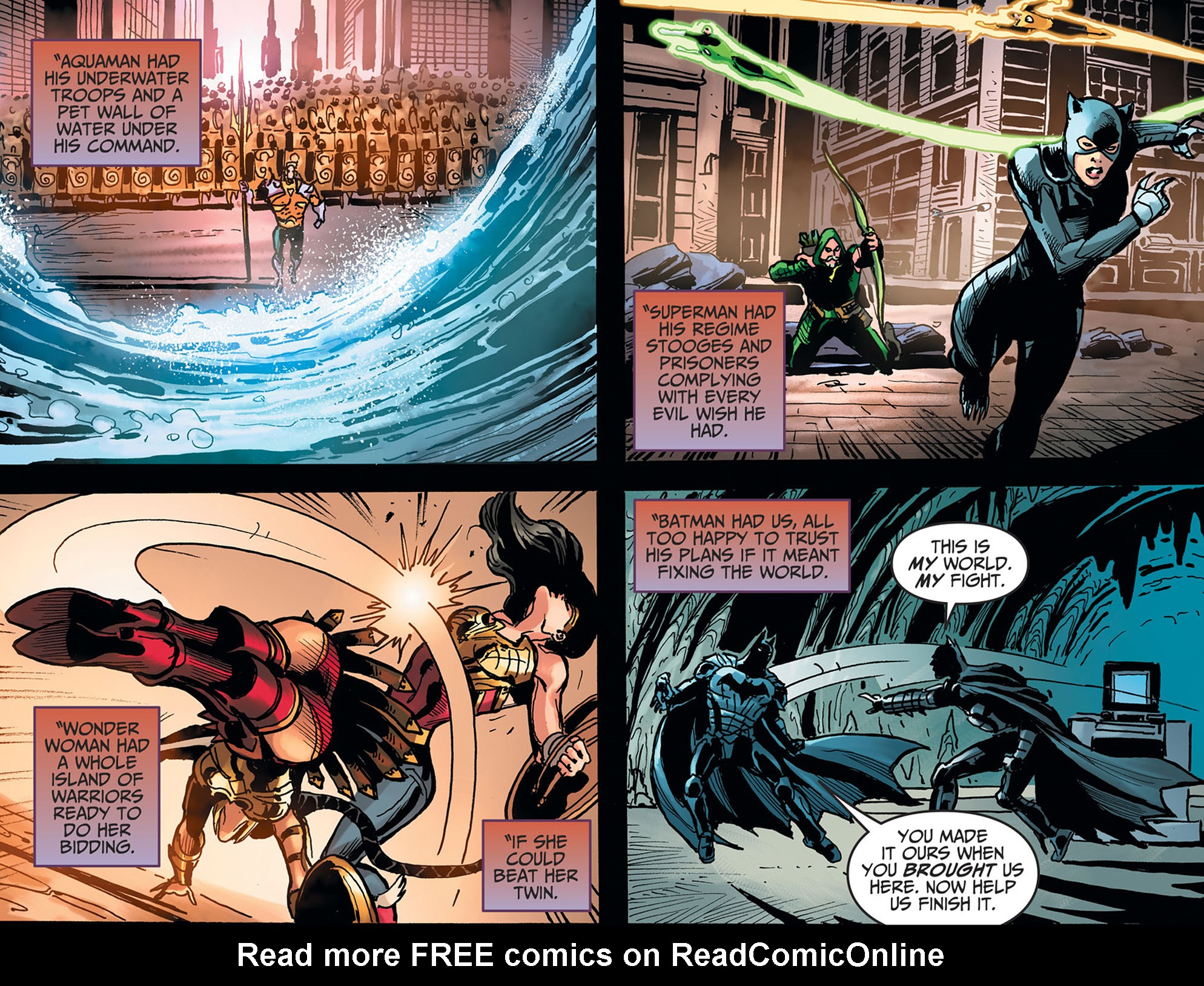 Read online Injustice: Ground Zero comic -  Issue #22 - 12
