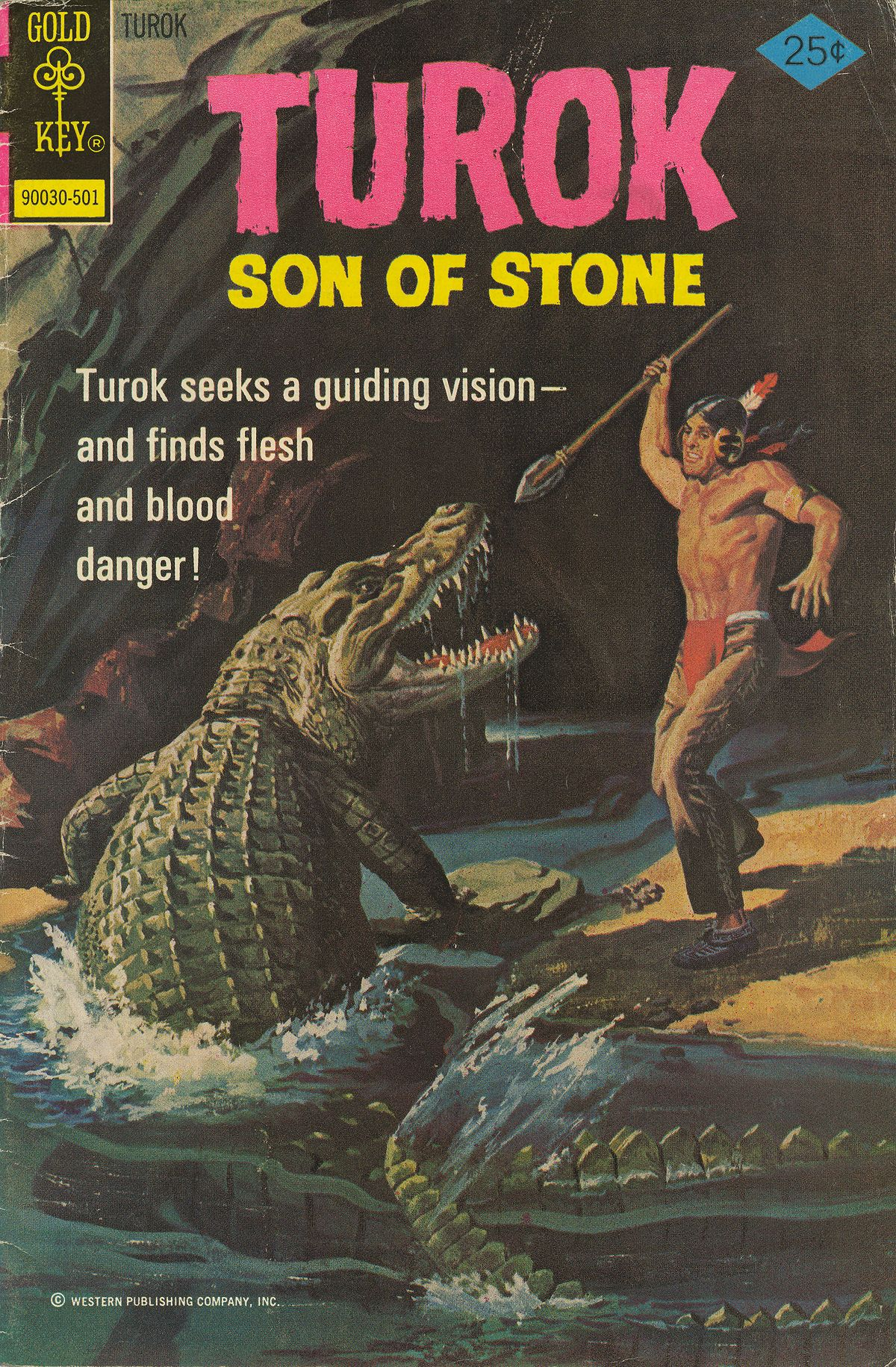 Read online Turok, Son of Stone comic -  Issue #94 - 1
