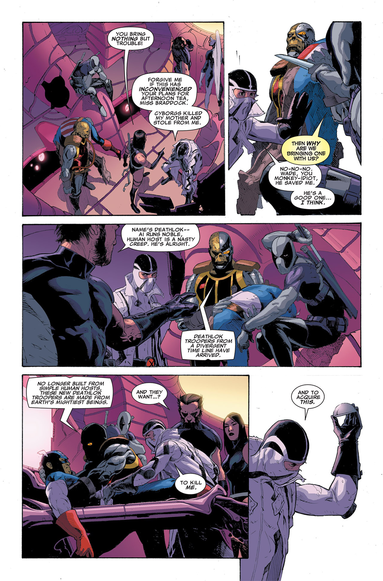 Read online Uncanny X-Force (2010) comic -  Issue #6 - 18