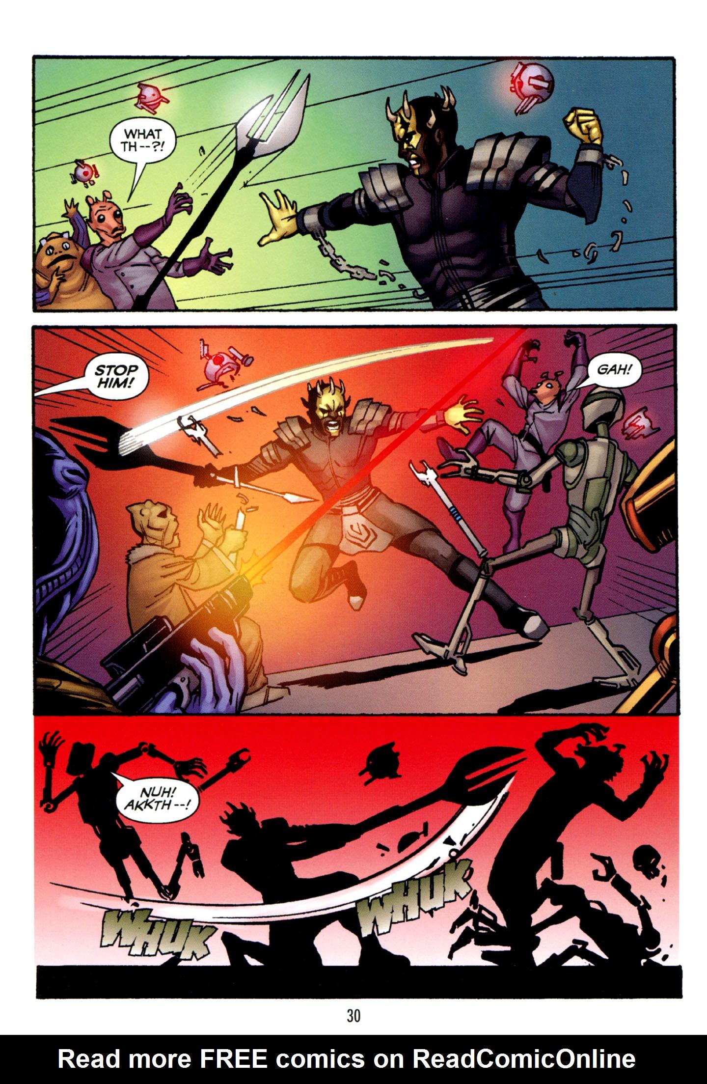 Read online Star Wars: The Clone Wars - Strange Allies comic -  Issue # Full - 31