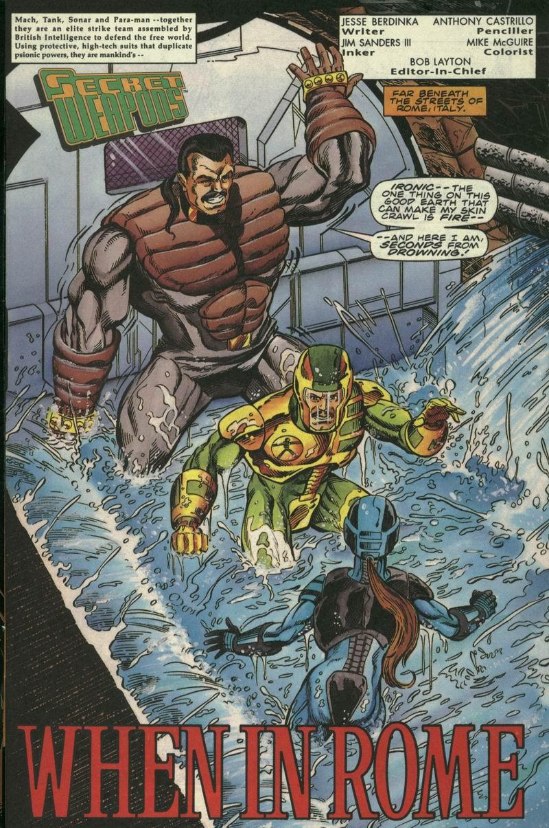 Read online Secret Weapons comic -  Issue #17 - 2