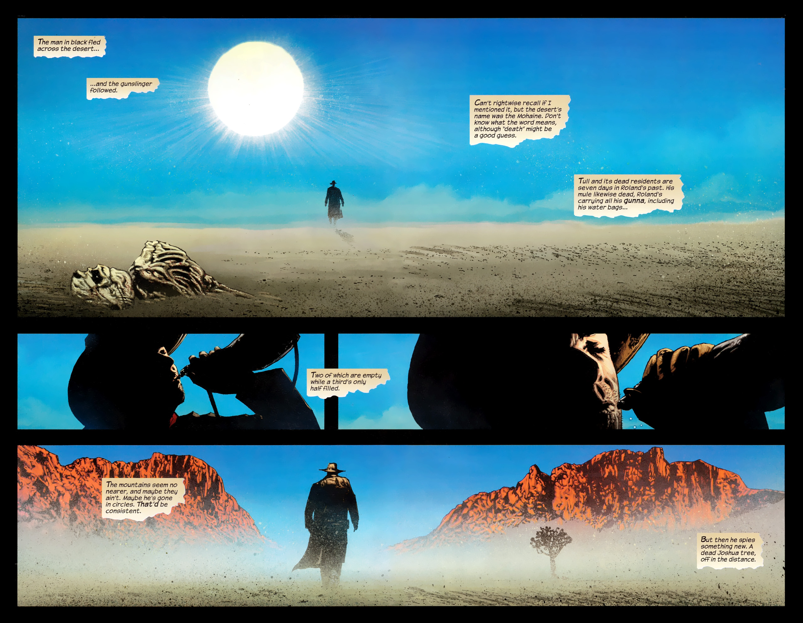 Read online Dark Tower: The Gunslinger - The Way Station comic -  Issue #1 - 7