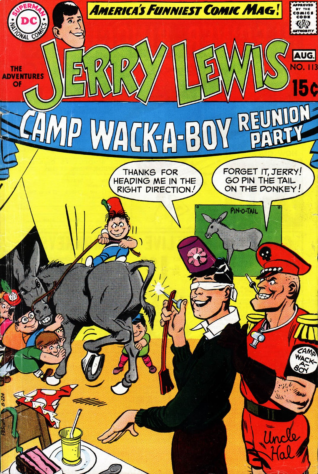 The Adventures of Jerry Lewis issue 113 - Page 1