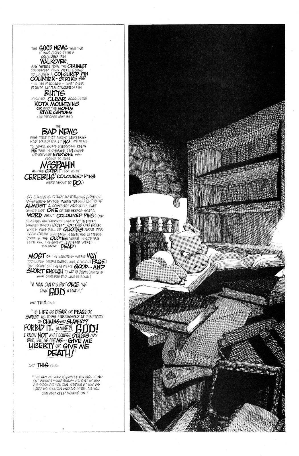 Cerebus Issue #275 #274 - English 9