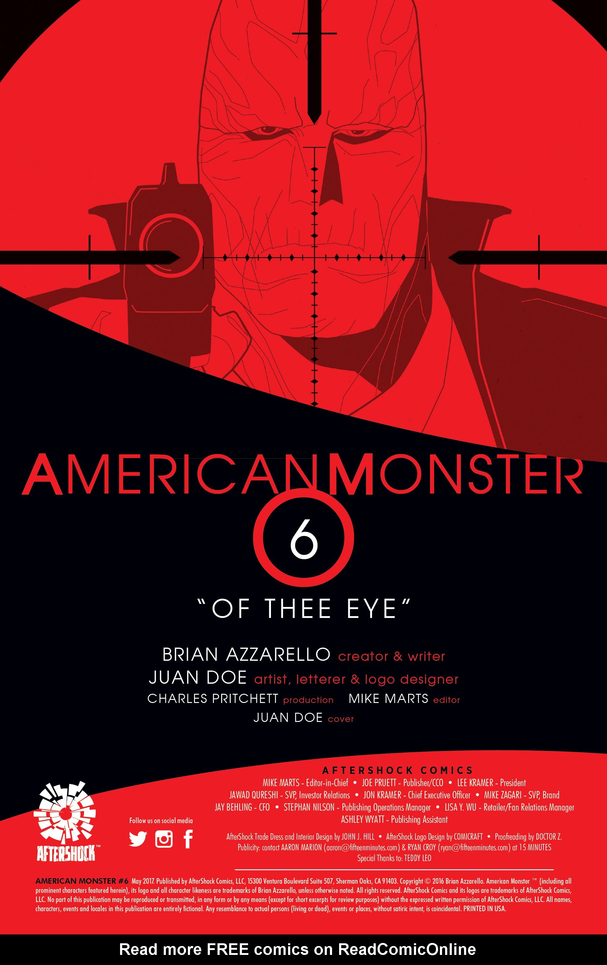 Read online American Monster comic -  Issue #6 - 2