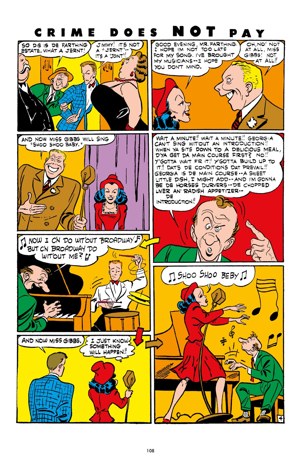 Read online Crime Does Not Pay Archives comic -  Issue # TPB 4 (Part 2) - 8