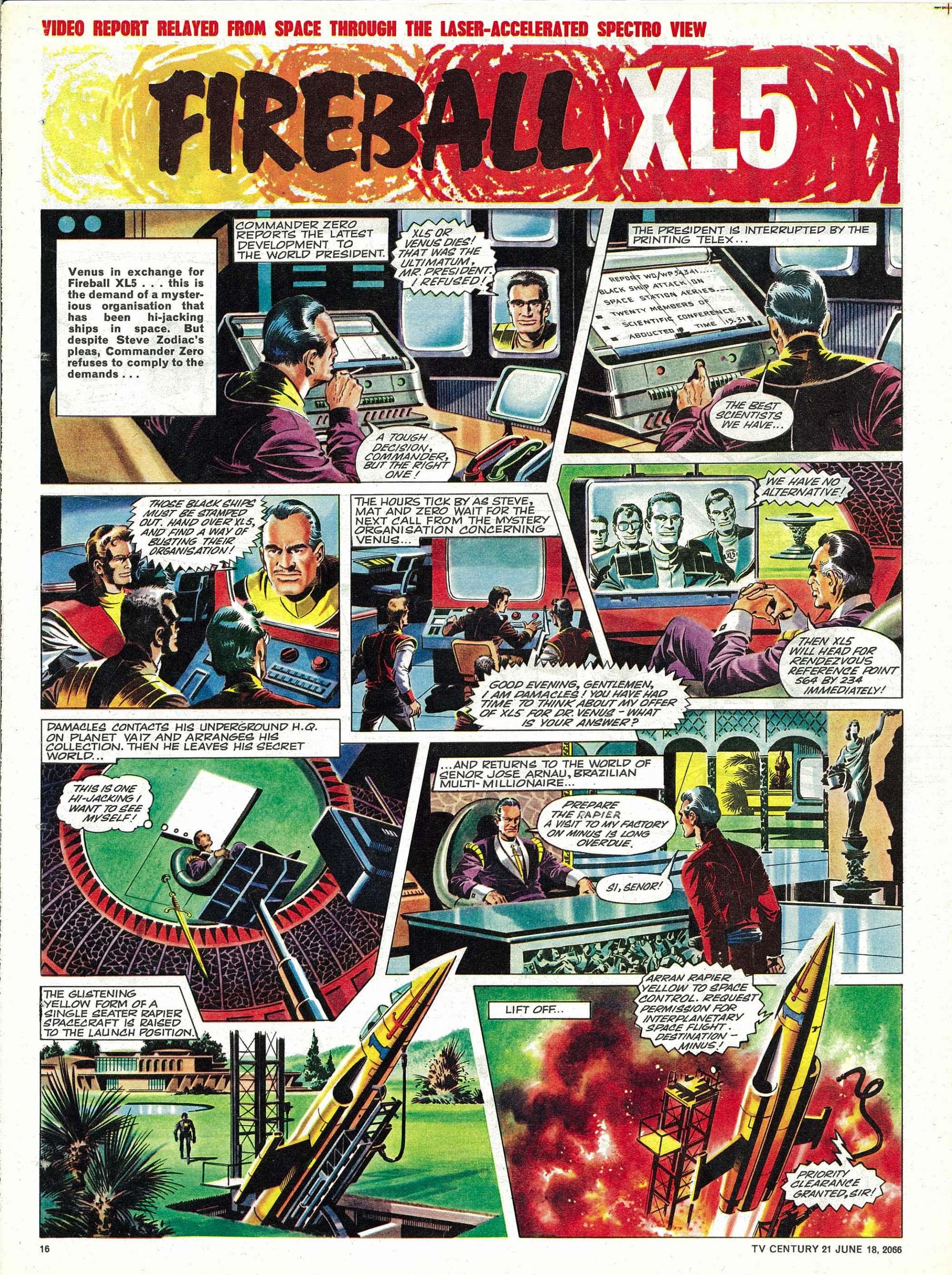 Read online TV Century 21 (TV 21) comic -  Issue #74 - 15