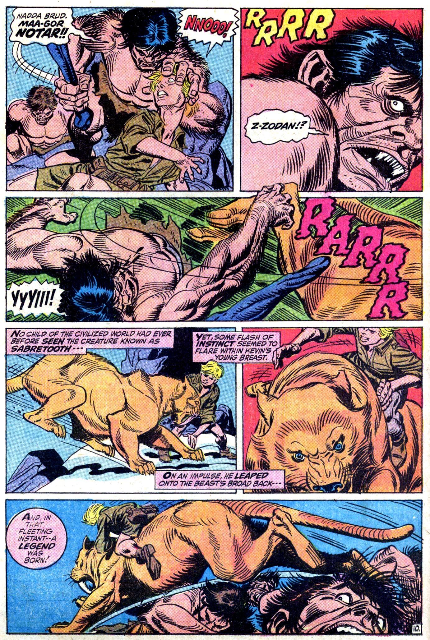 Read online Astonishing Tales (1970) comic -  Issue #11 - 11