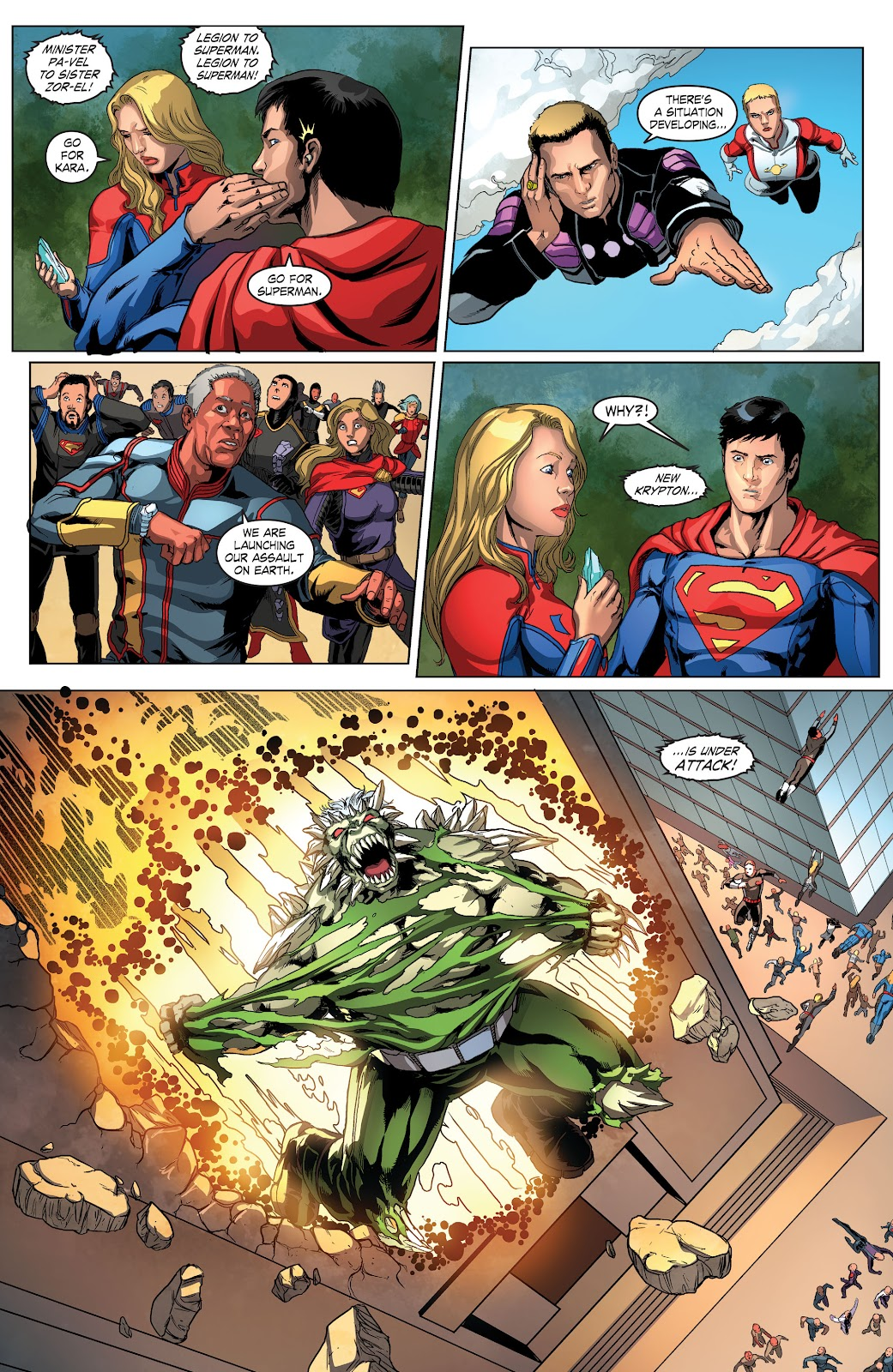 Read online Smallville Season 11 [II] comic -  Issue # TPB 4 - 80