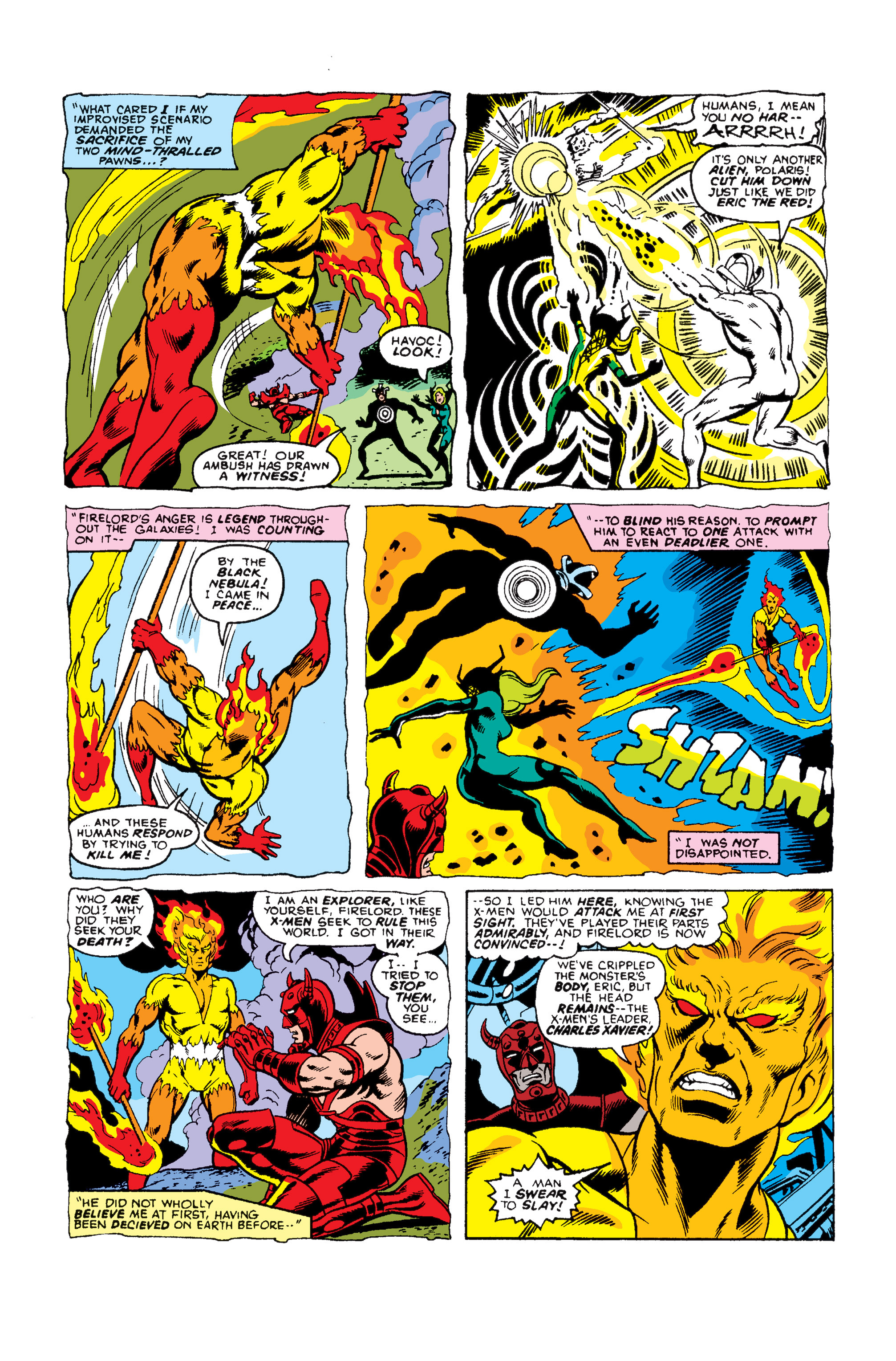 Read online Uncanny X-Men (1963) comic -  Issue #105 - 6